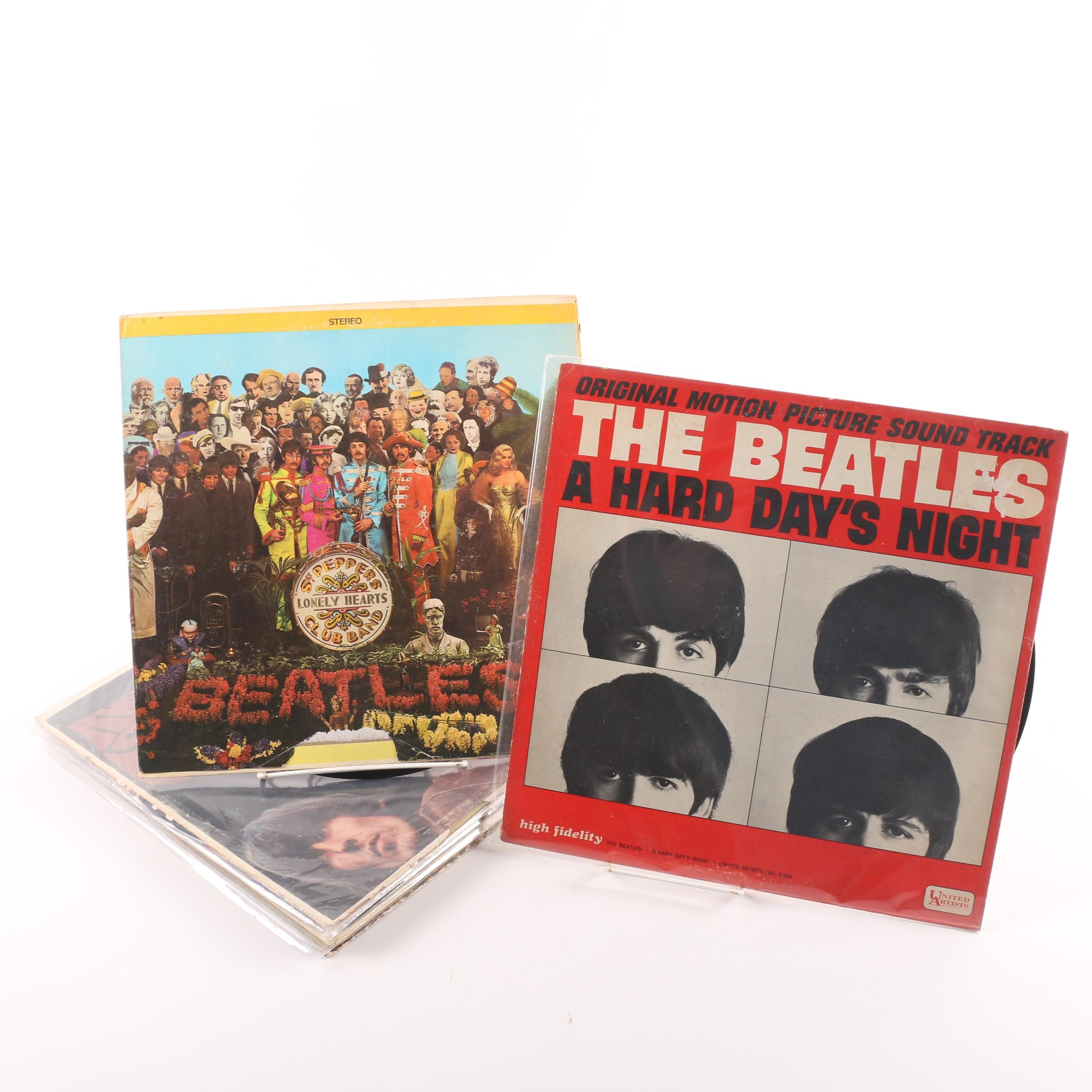 """Beatles '65"", ""Rubber Soul"" and Other Vintage Beatles Records"
