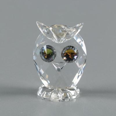 46e86444d Retired Swarovski Crystal Owl Figurine Designed by Max Schreck