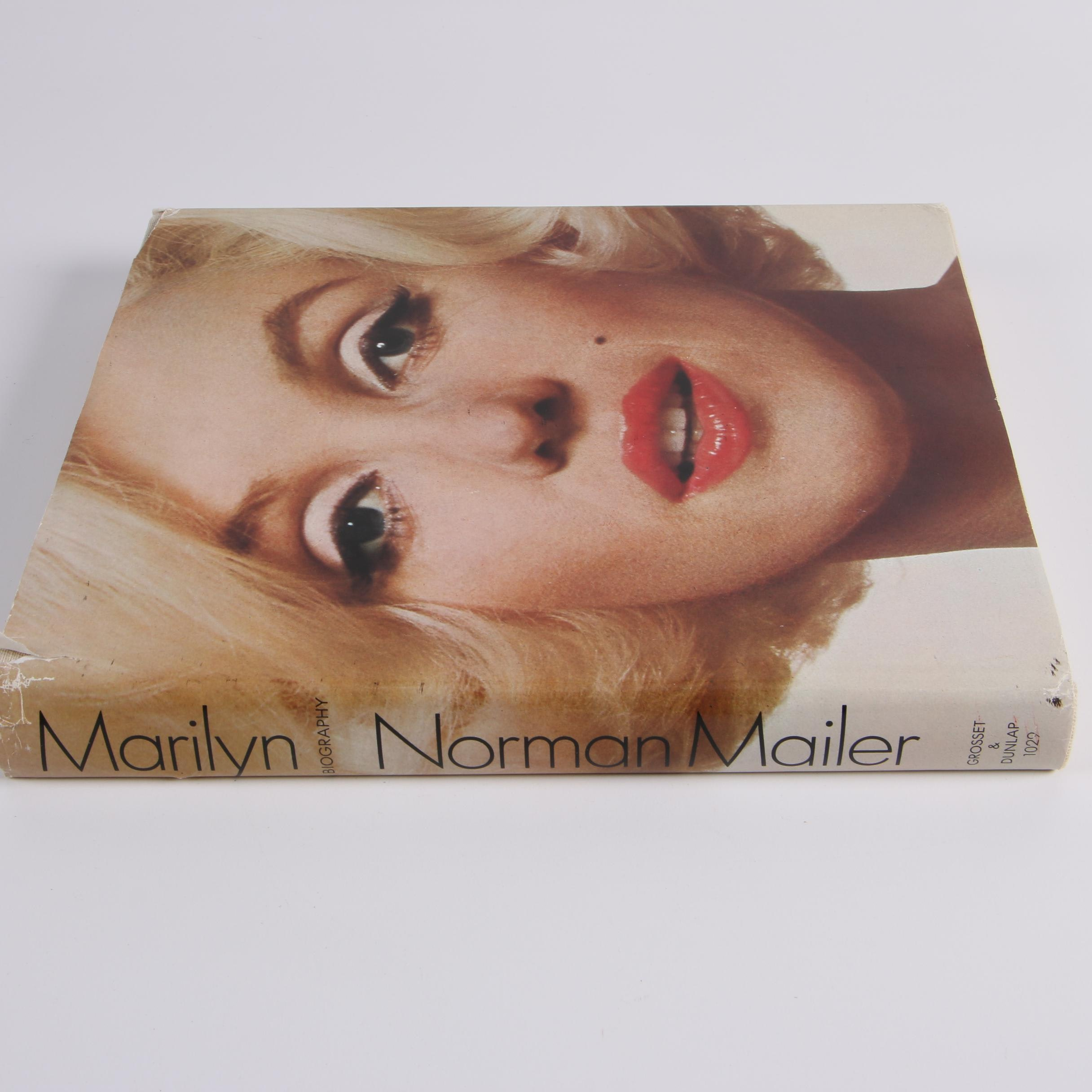 "1973 Second Printing ""Marilyn: A Biography"" by Norman Mailer"