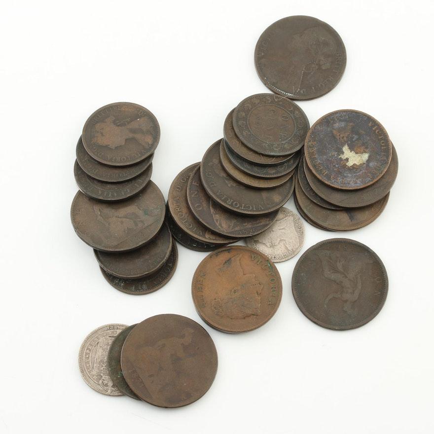 Victorian Era British Coins 1843-1901