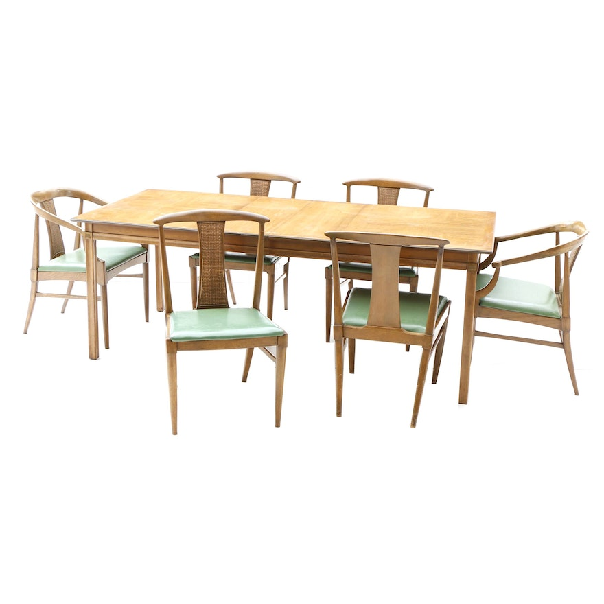 Mid Century Modern Dining Set By Thomasville
