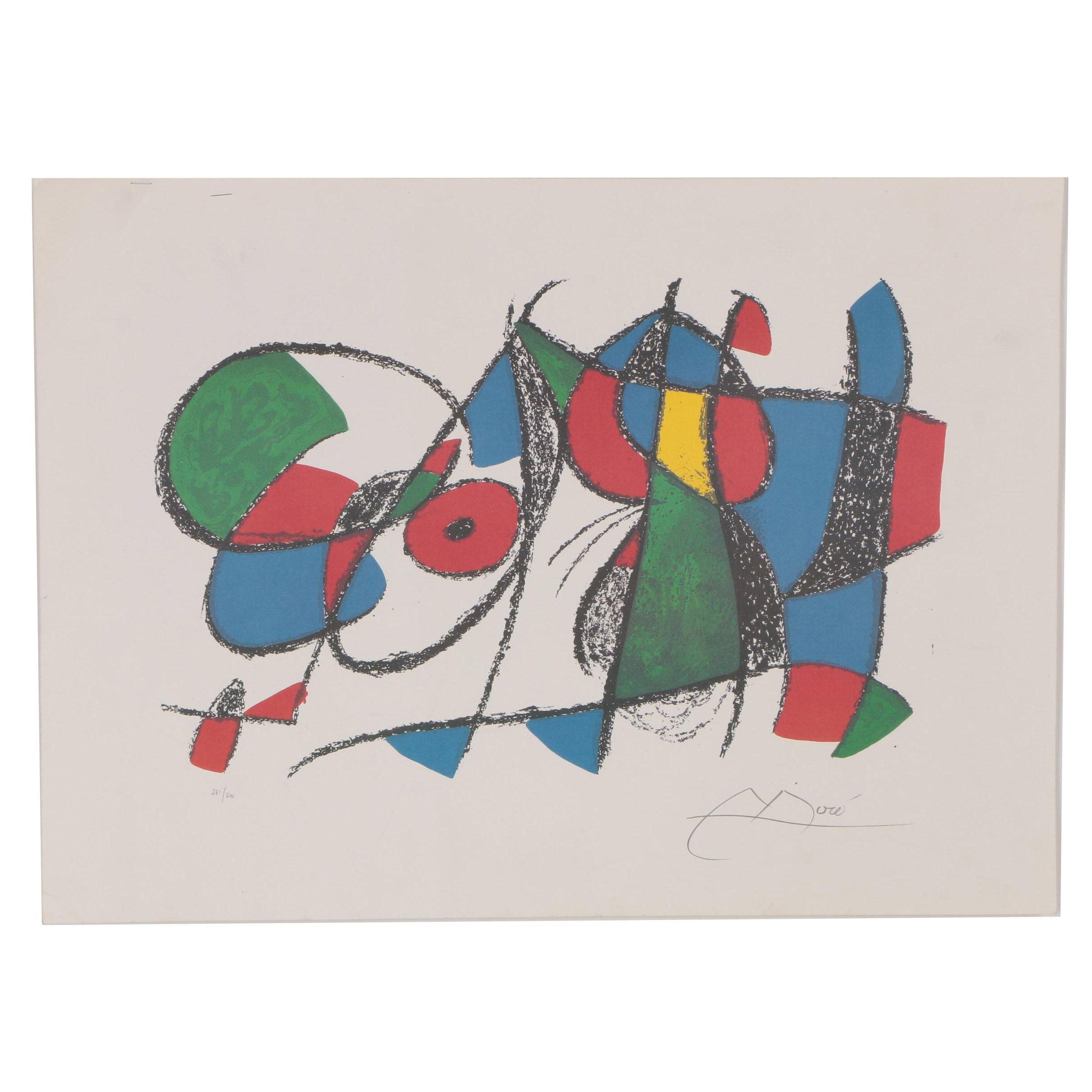 Giclée after Joan Miró