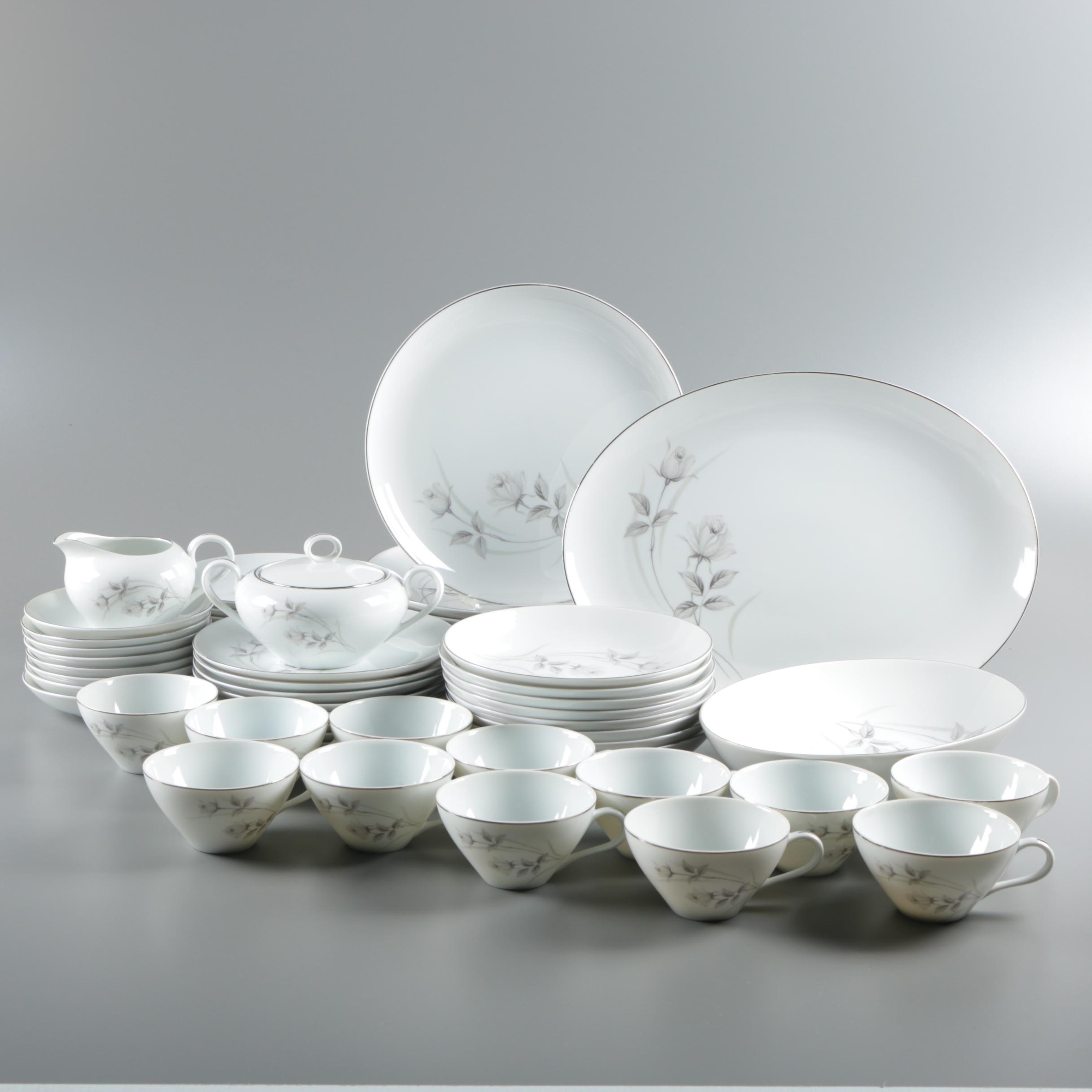 "Harmony House ""Harmony Rose"" Porcelain Dinnerware"