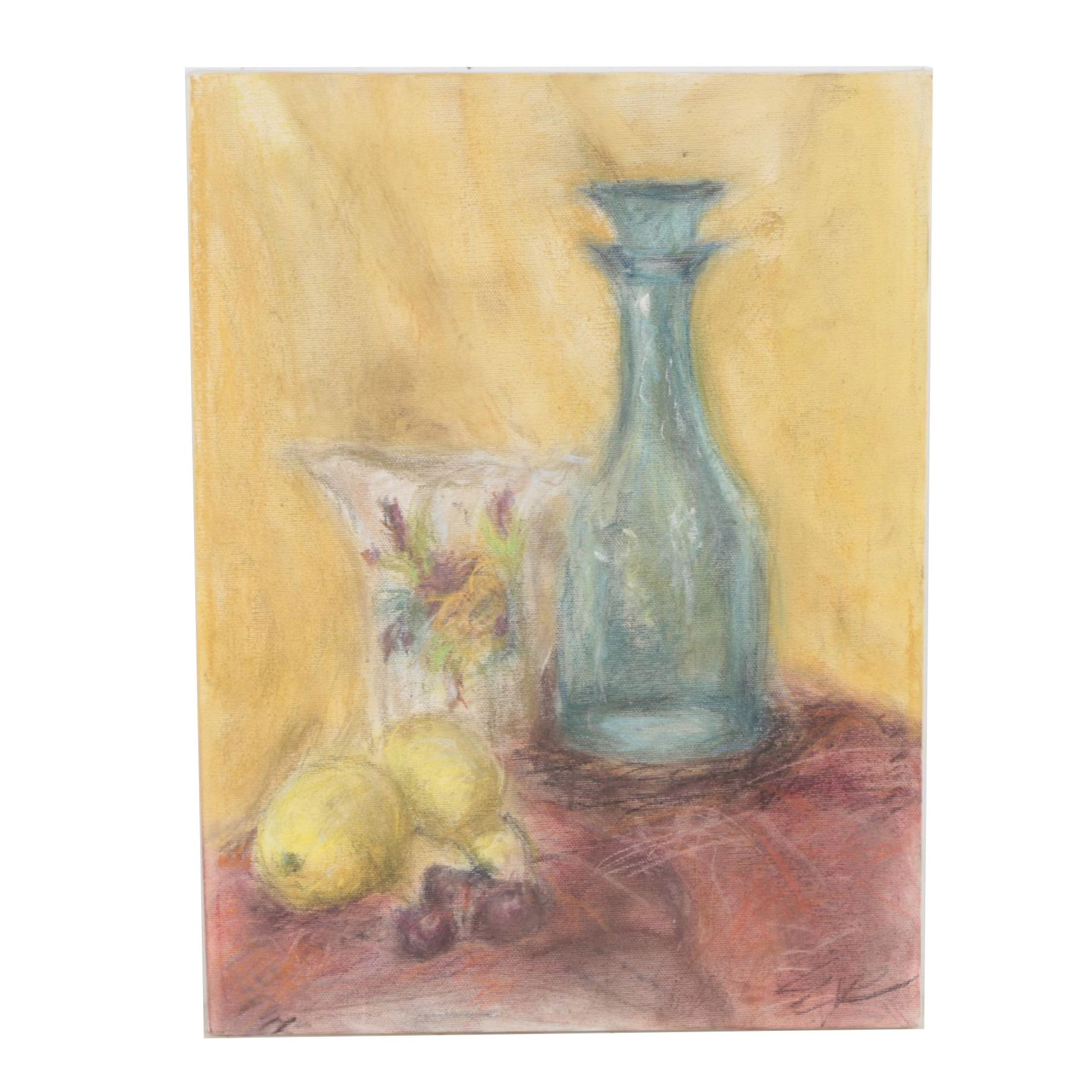 Pastel Still Life Drawing