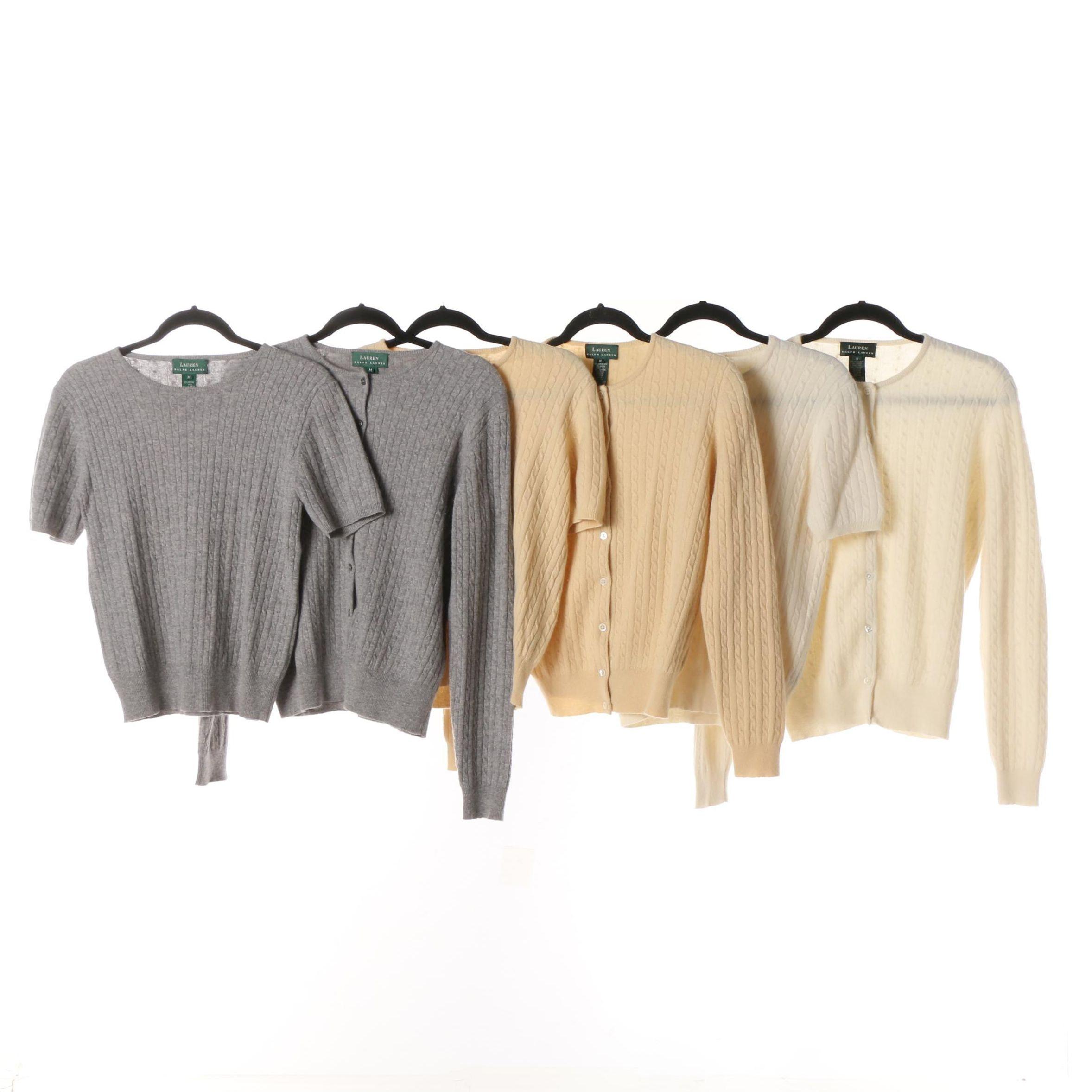 Lauren Ralph Lauren Woolcashmere Blend Sweater Sets Ebth