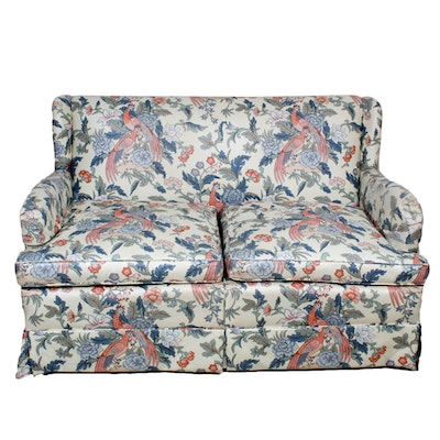Miraculous Upholstered Loveseat By Broyhill Furniture For Havertys Ebth Forskolin Free Trial Chair Design Images Forskolin Free Trialorg