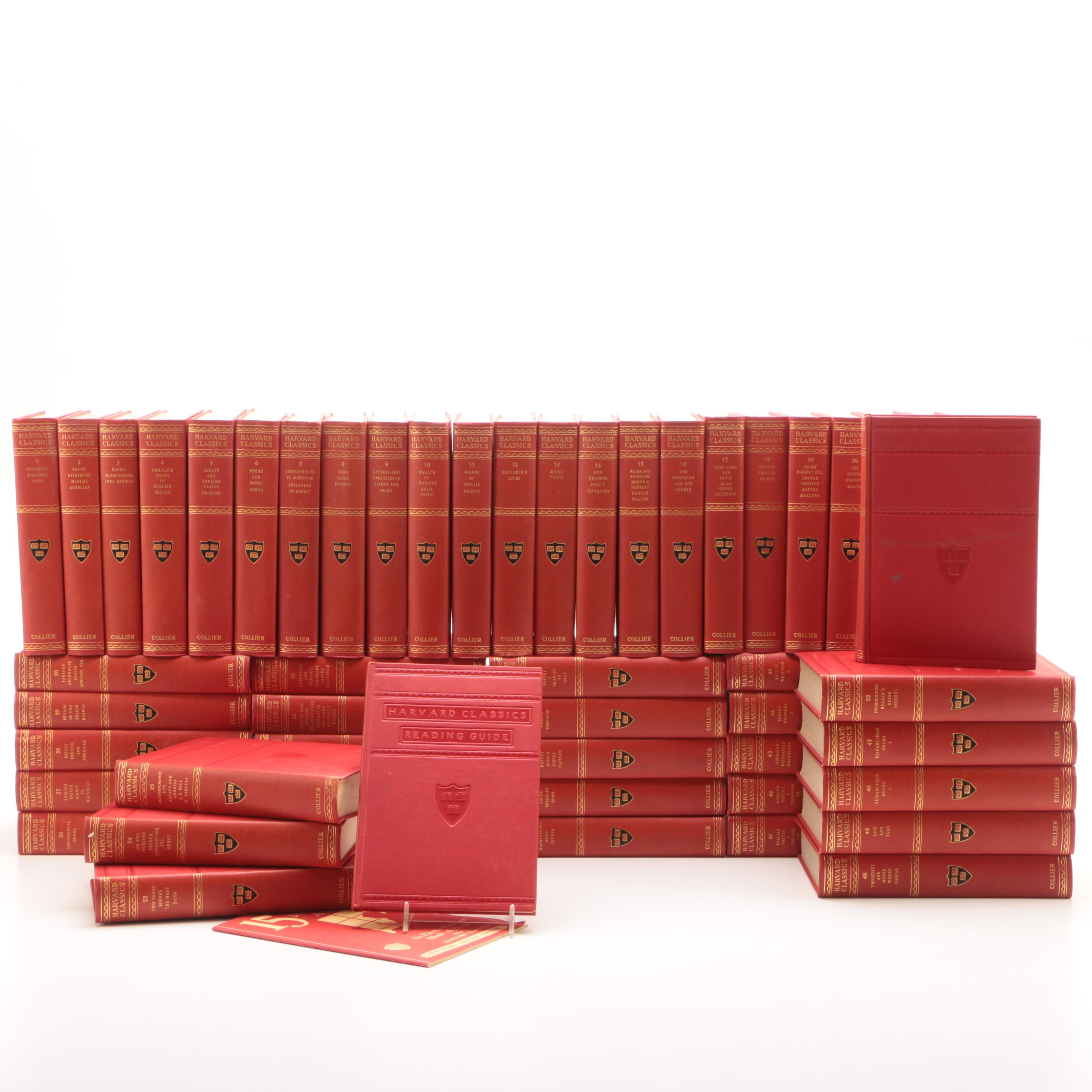 "Early 20th Century Fifty-Two Volume ""The Harvard Classics"" Series"