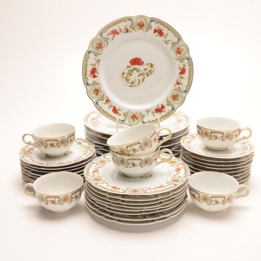 "Charles Field Haviland Limoges ""Mozart Chantoung"" Porcelain Dinnerware"