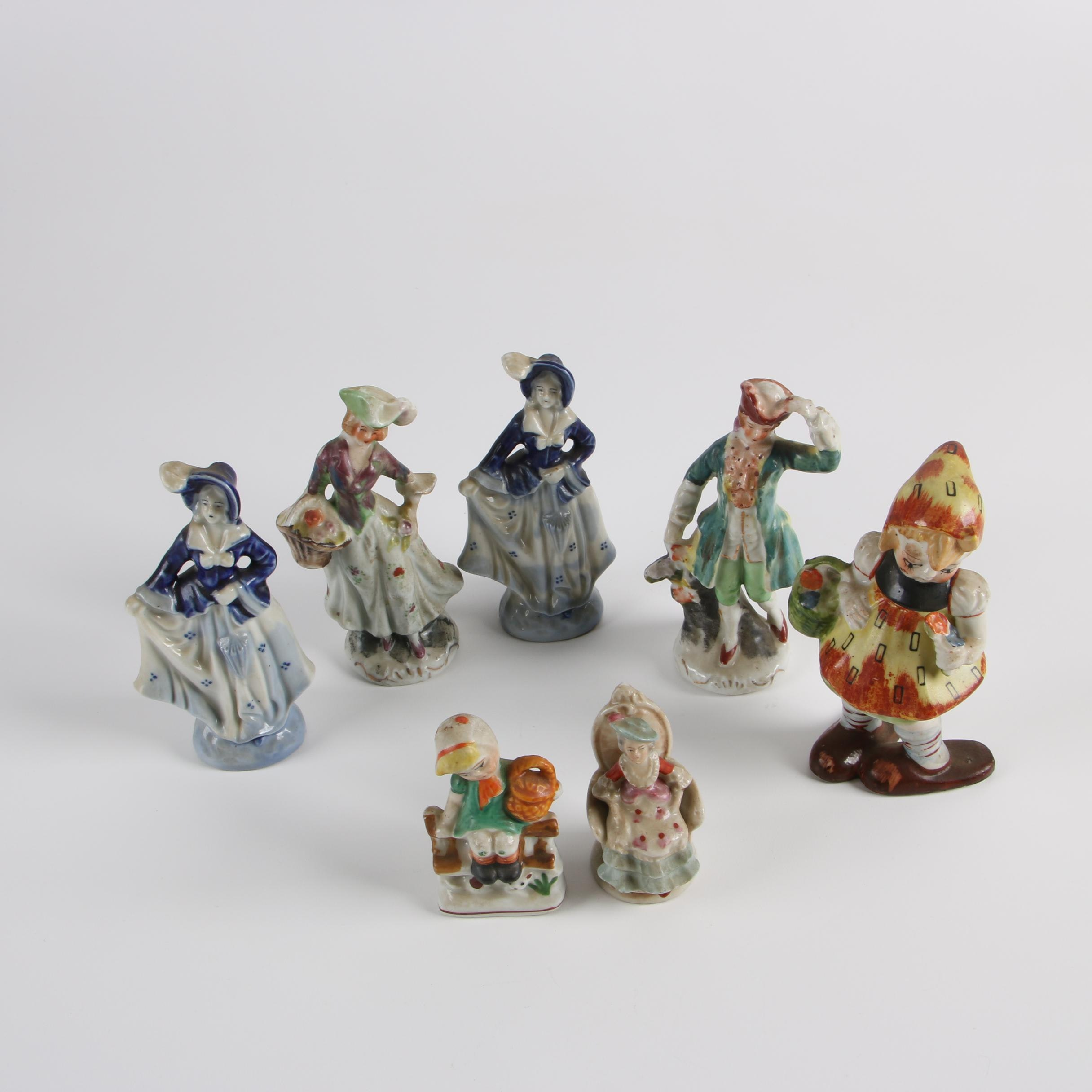Vintage Occupied Japan Porcelain Figurines