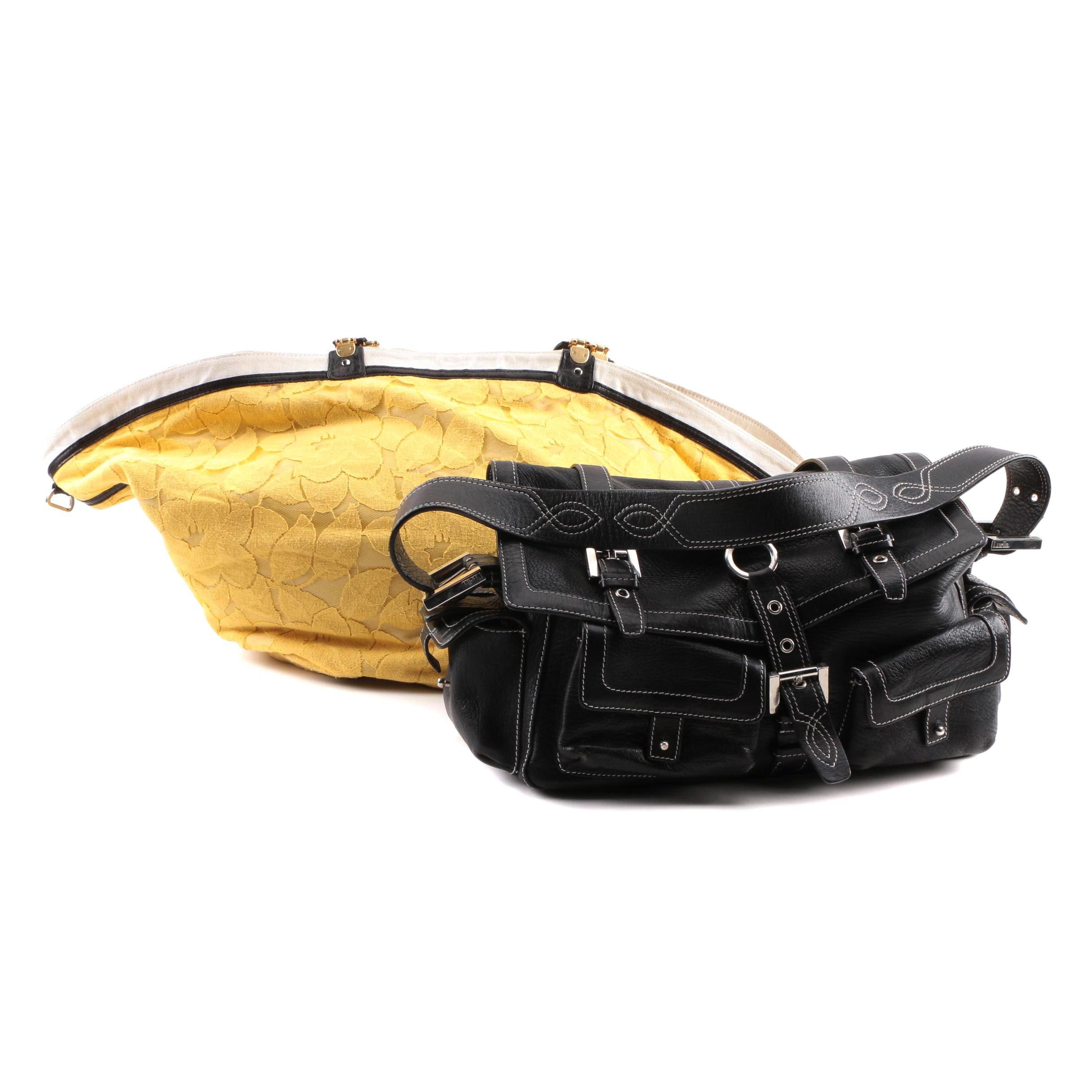 3.1 Phillip Lim Canvas Tote and Luella Leather Shoulder Bag