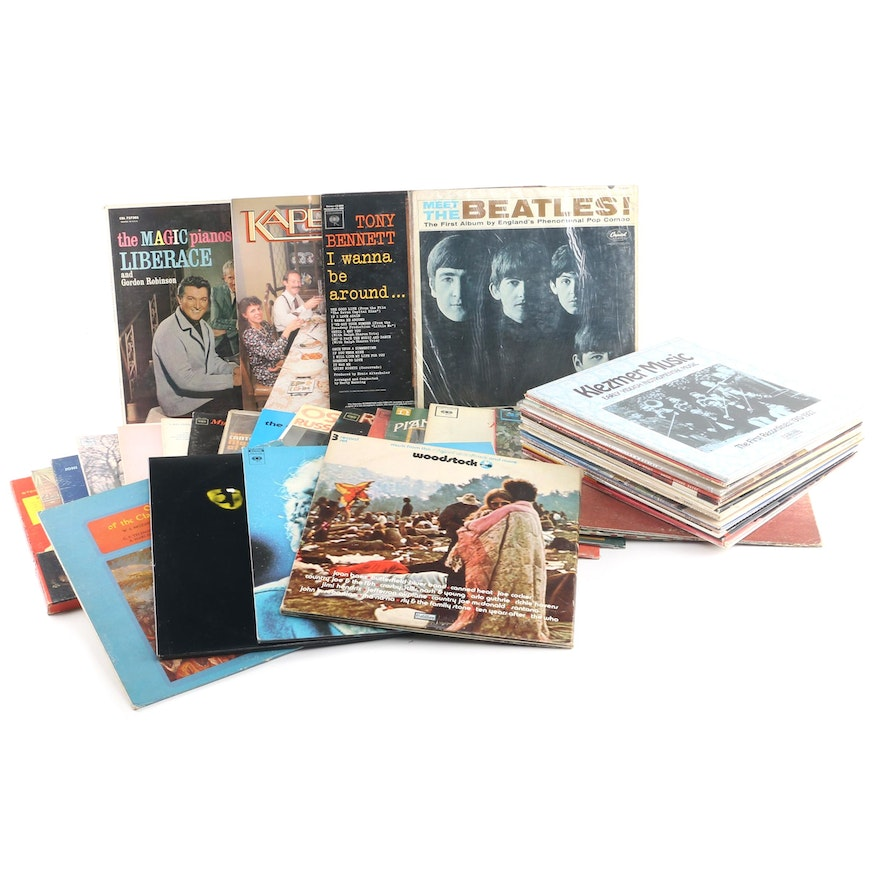 """Meet The Beatles"" and Other Vintage Records including Klezmer Revival"