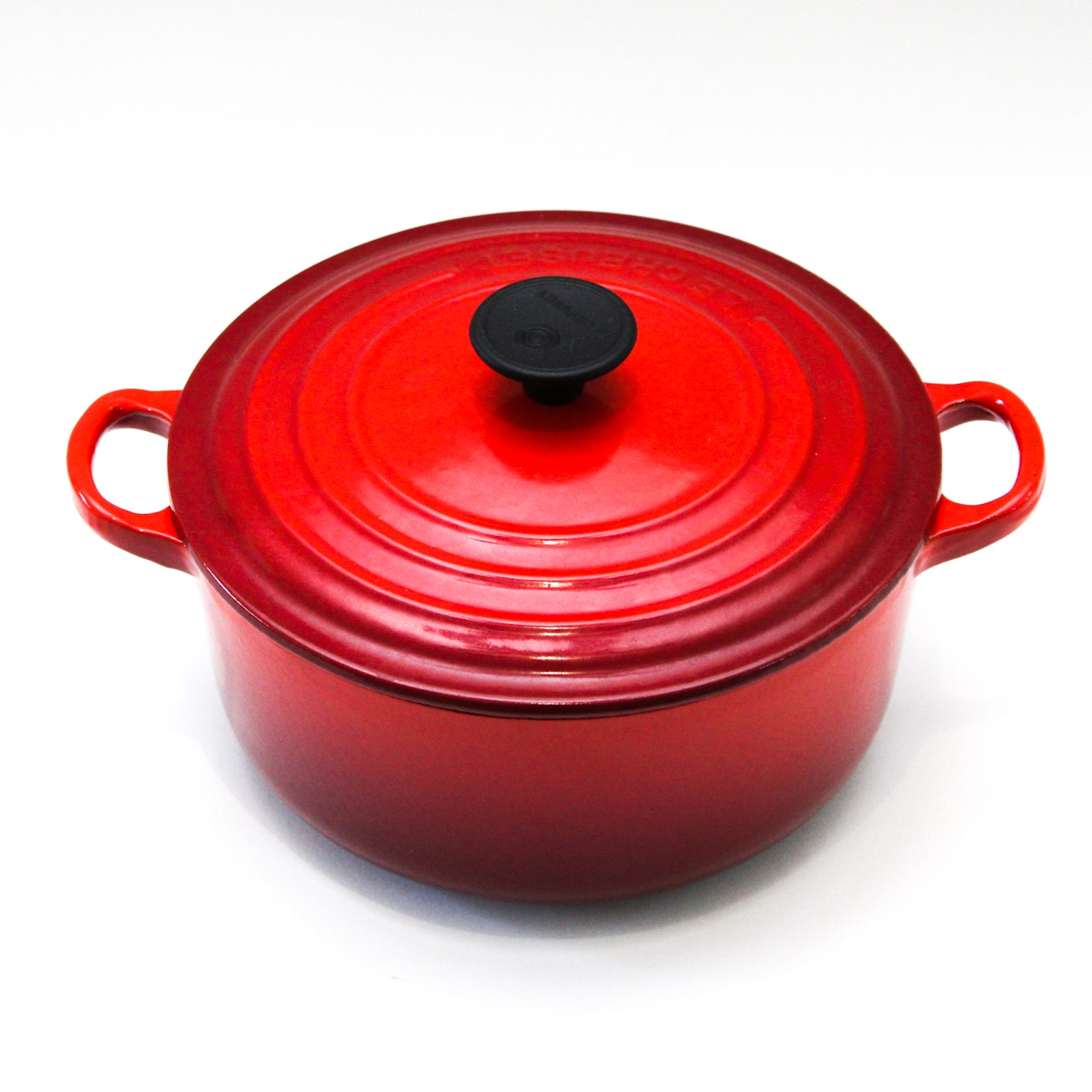 Le Creuset Enameled Dutch Oven in Red