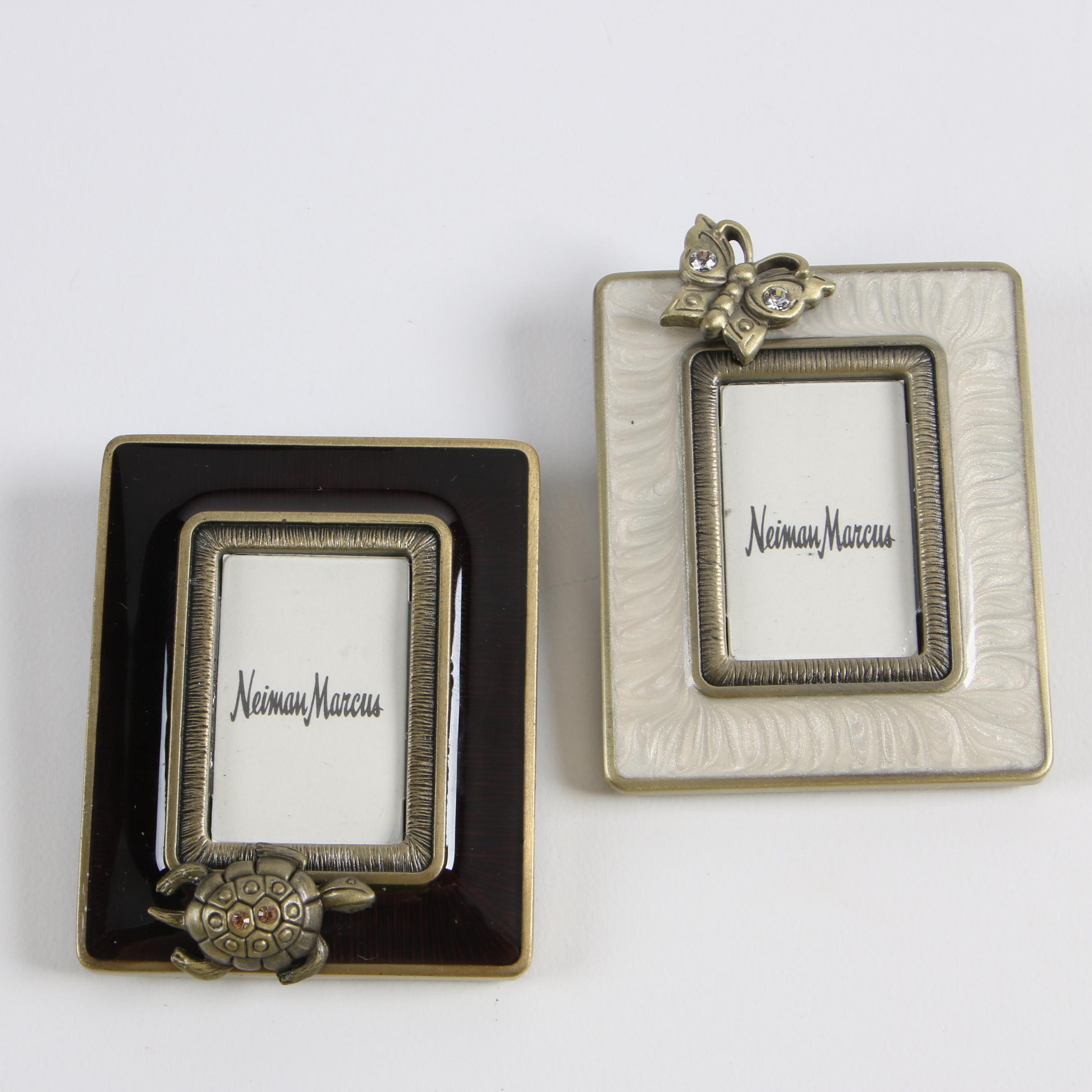 Jay Strongwater for Neiman Marcus Enameled Mini Clip Frames
