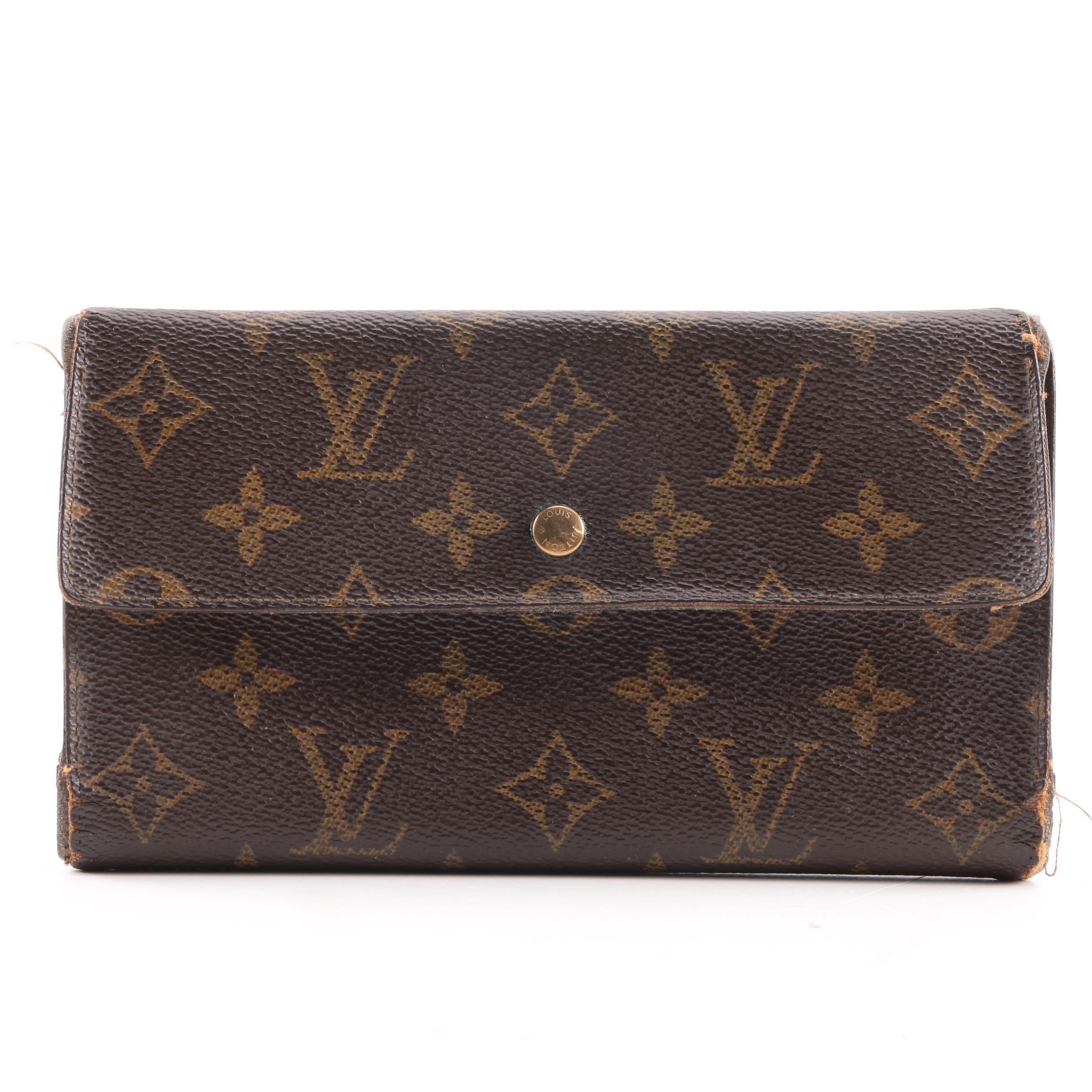 Vintage Louis Vuitton Malletier Monogram Wallet