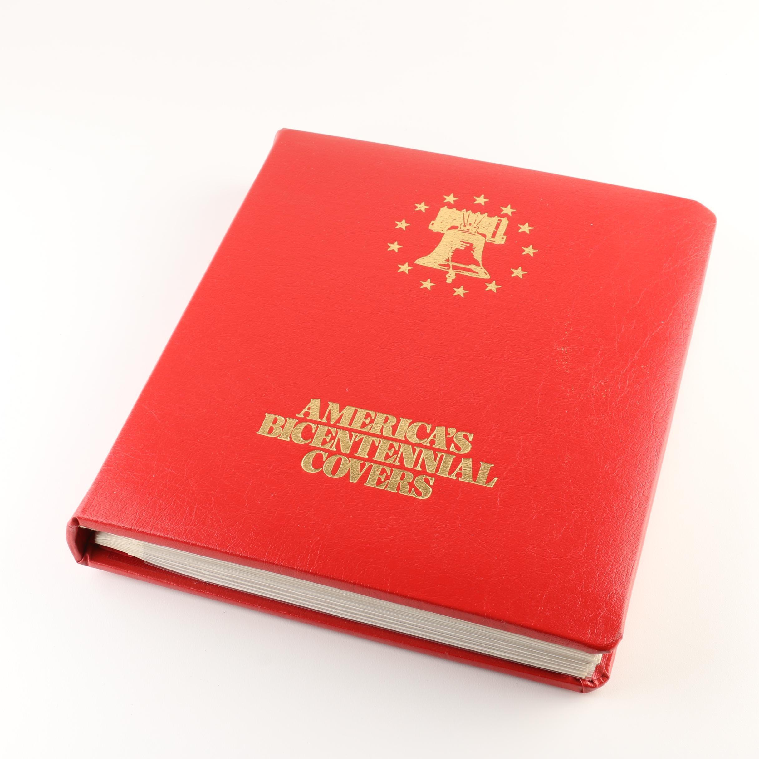 """America's Bicentennial Covers: 1776-1976 & 1777-1977"""