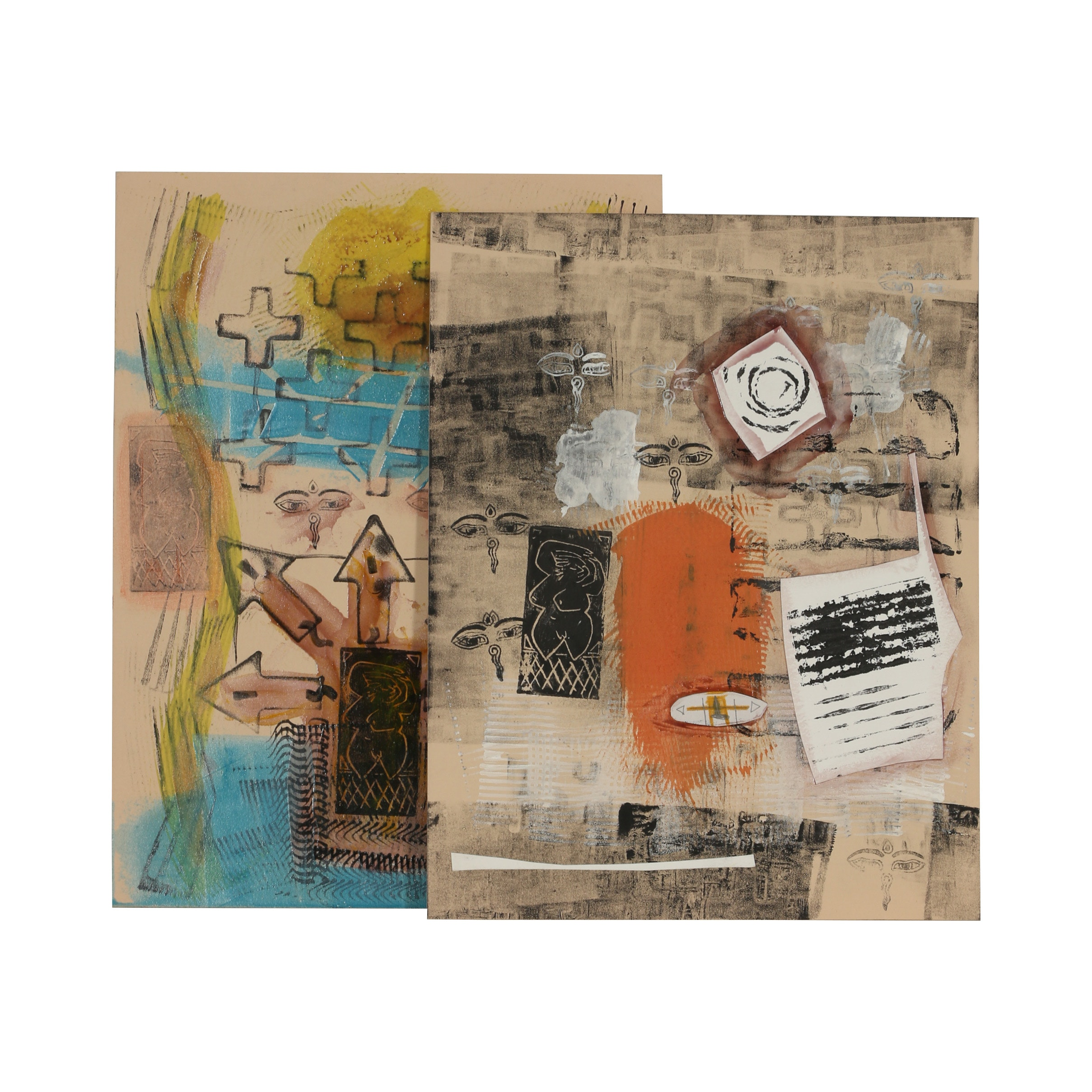 Merle Rosen Mixed Media Compositions