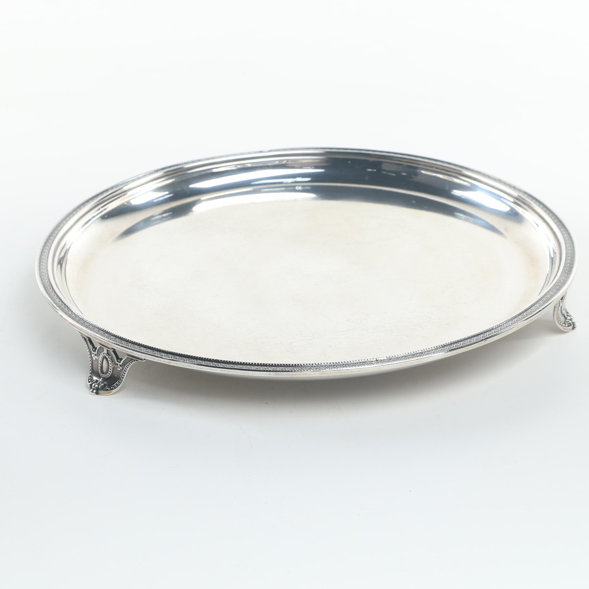 Mid-19th Century Tiffany & Co. Sterling Silver Footed Tray