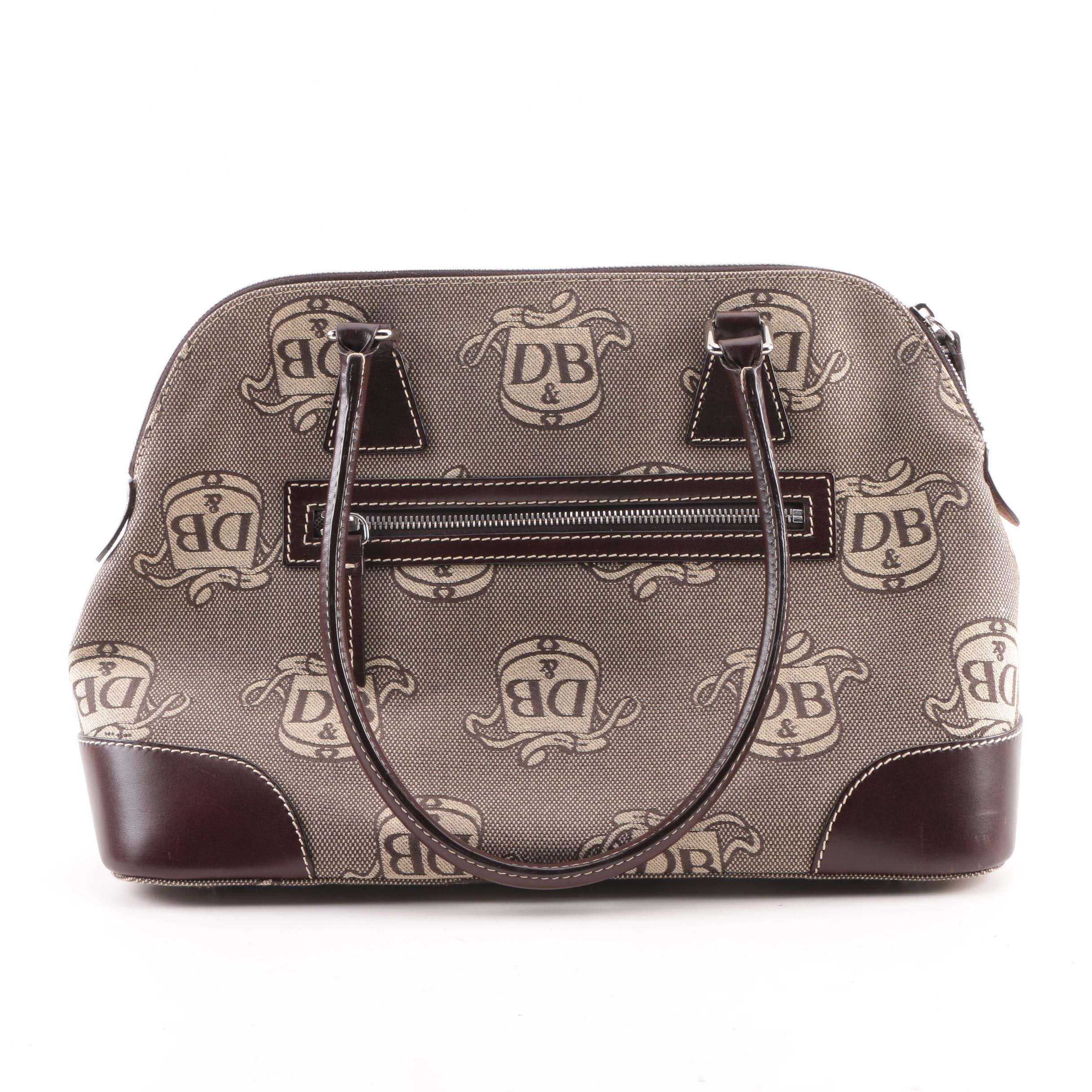Dooney & Bourke Donegal Crest Domed Satchel