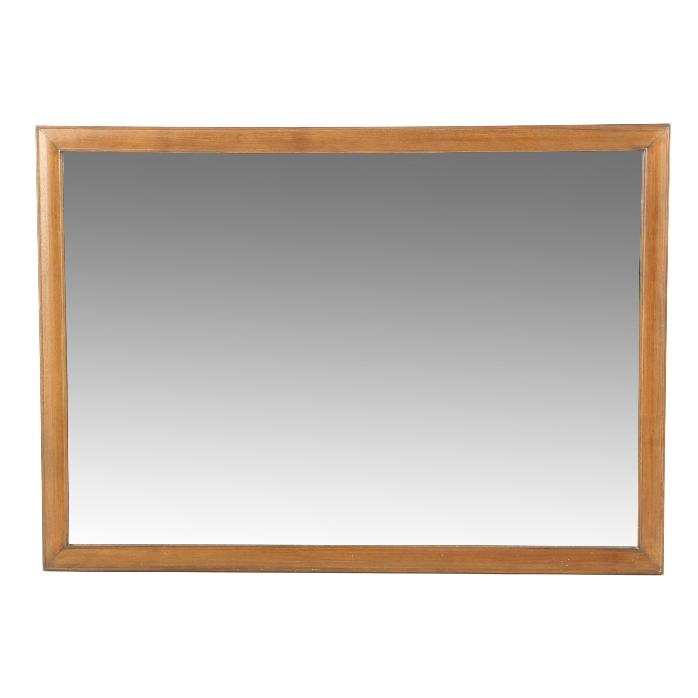 Over-Sized Wood Framed Wall Mirror
