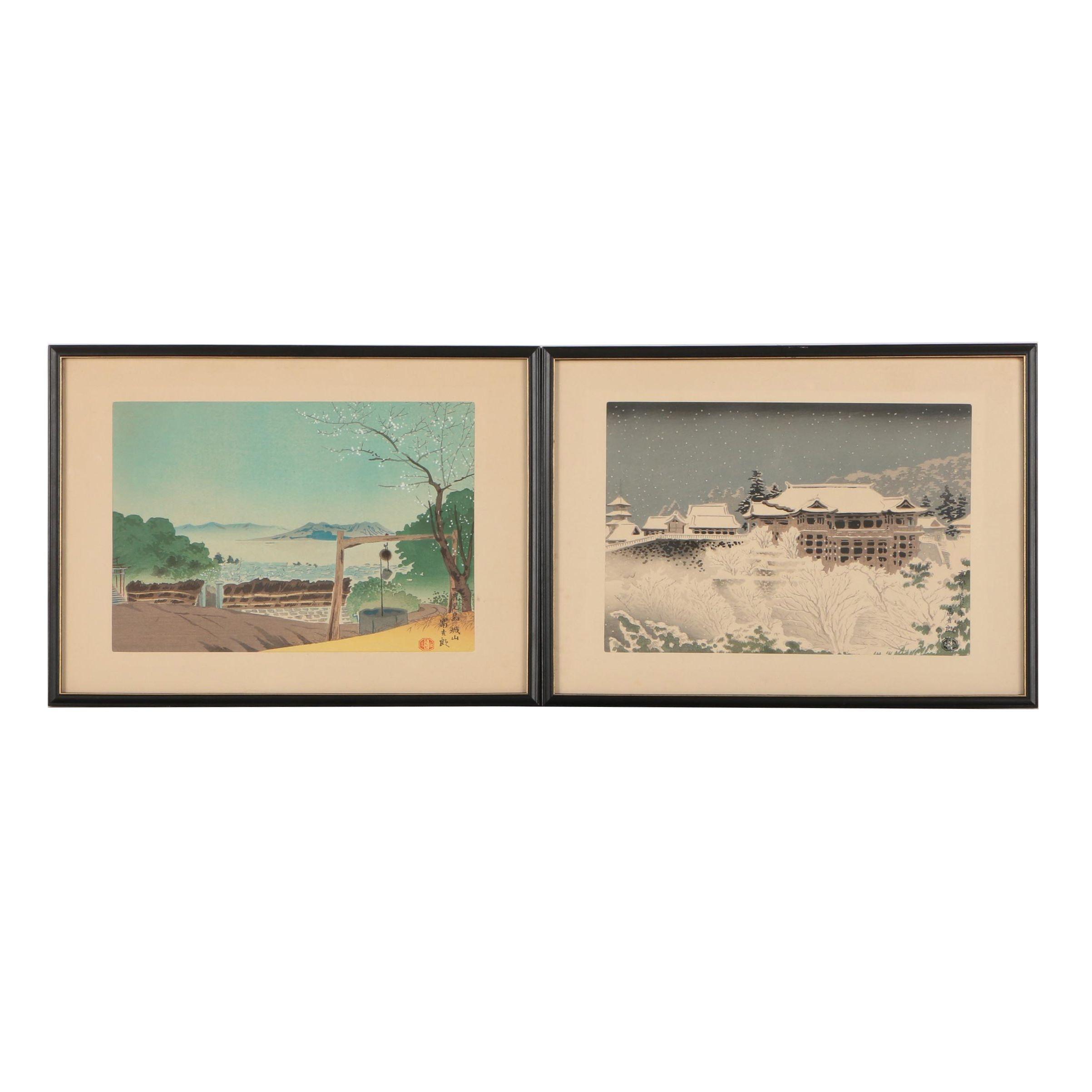 Tokuriki Tomikichirō Shin-Hanga Woodblock Prints