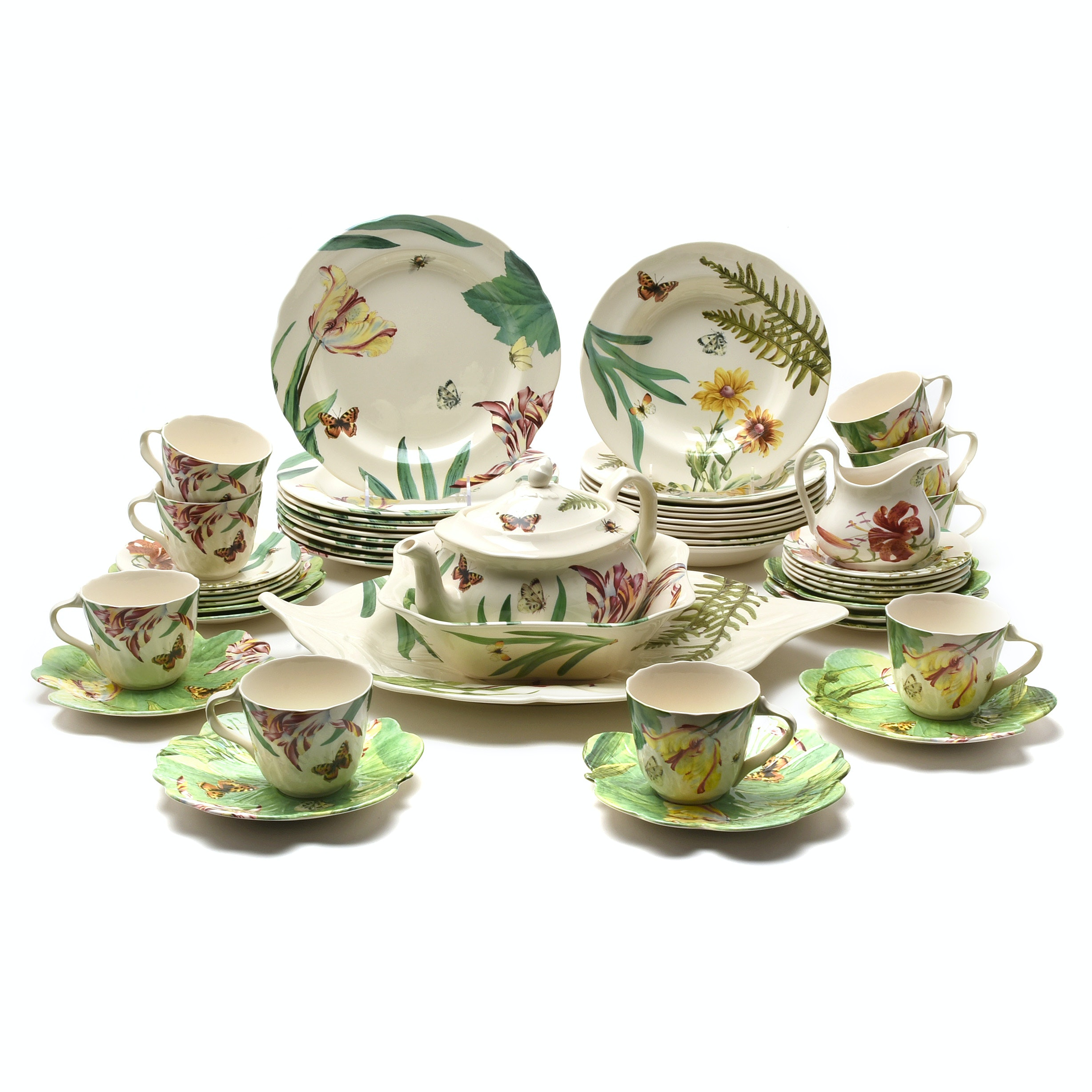 "Spode ""Floral Haven"" Earthenware Dinnerware"