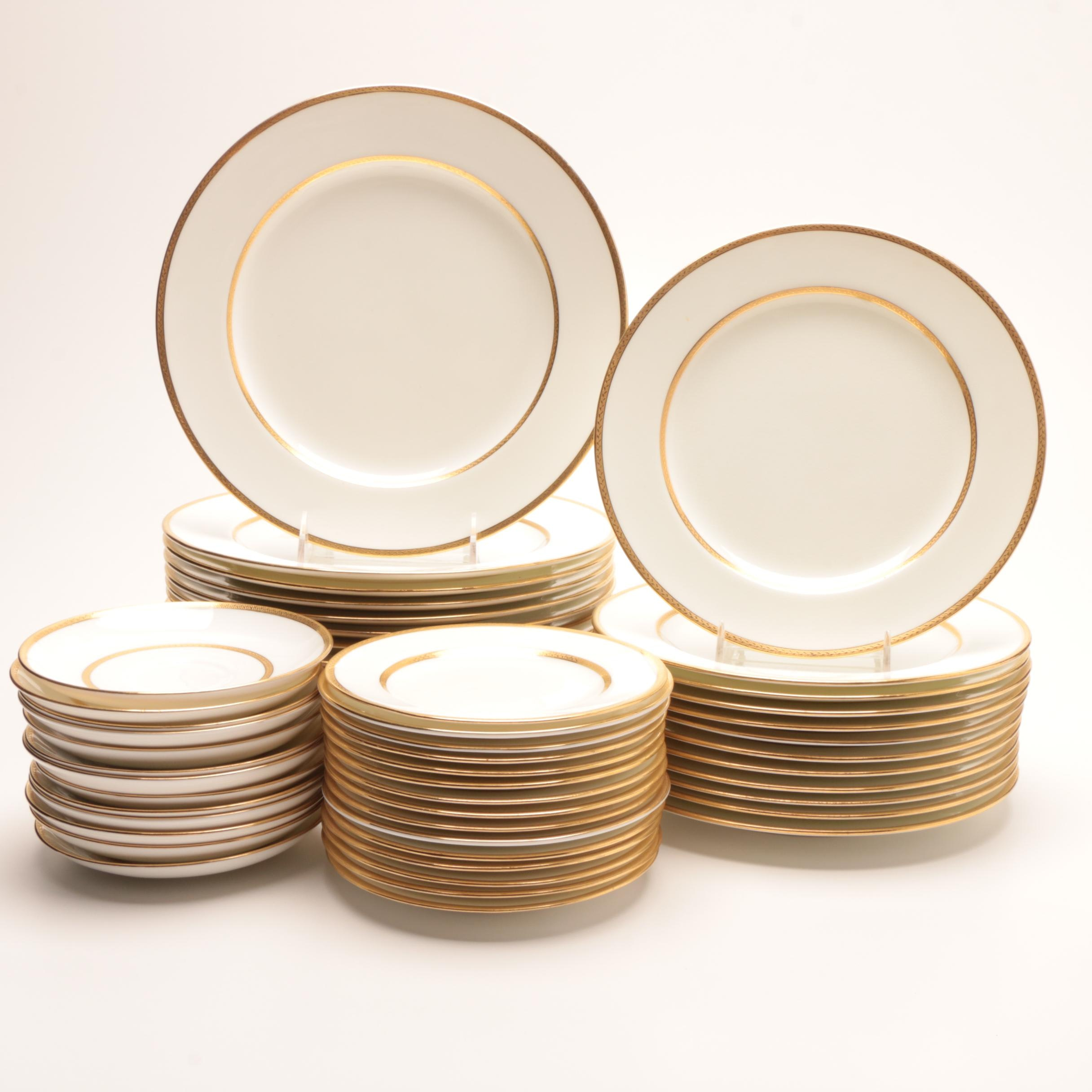 Minton Gold Encrusted Bone China Dinnerware