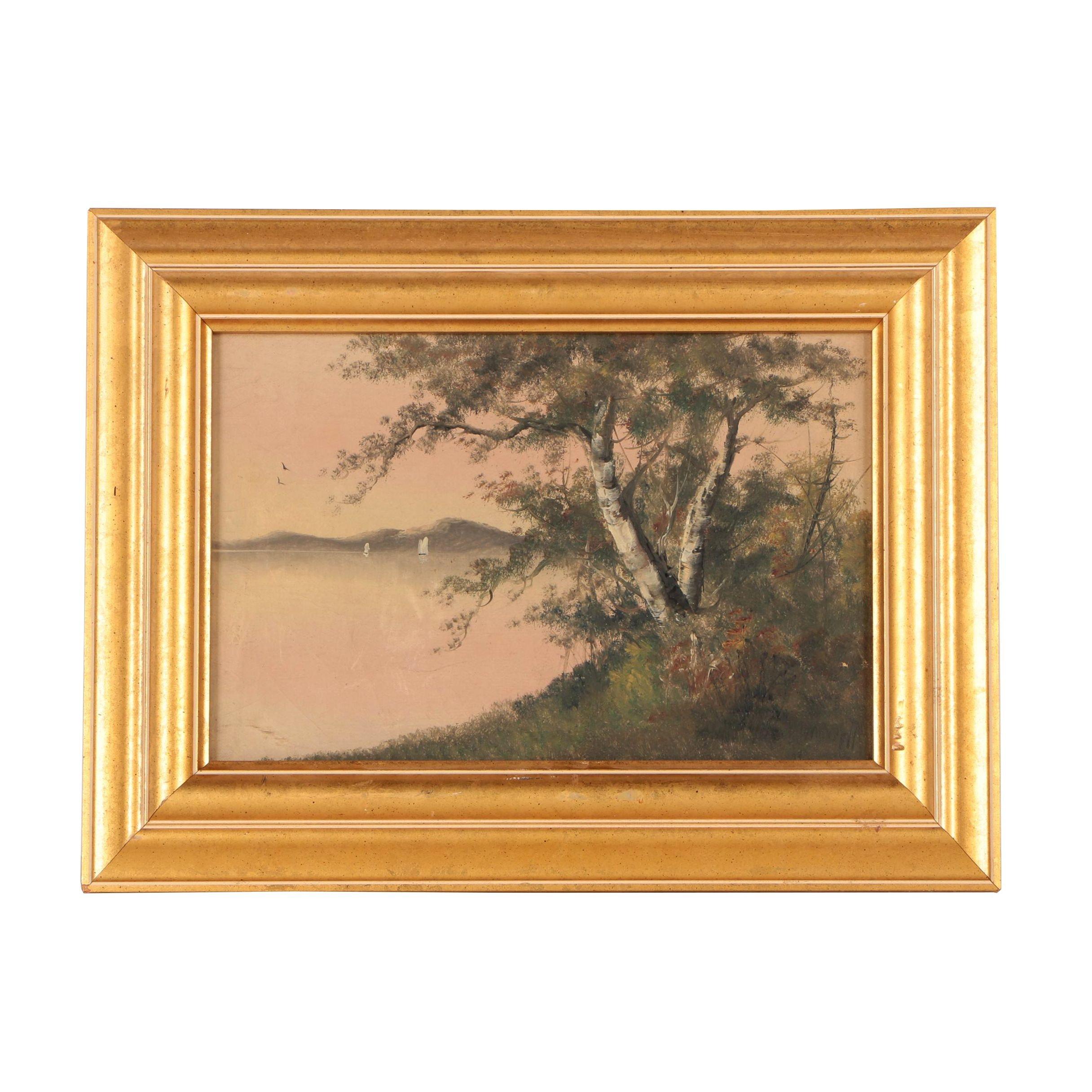 Morrell Landscape Oil Painting