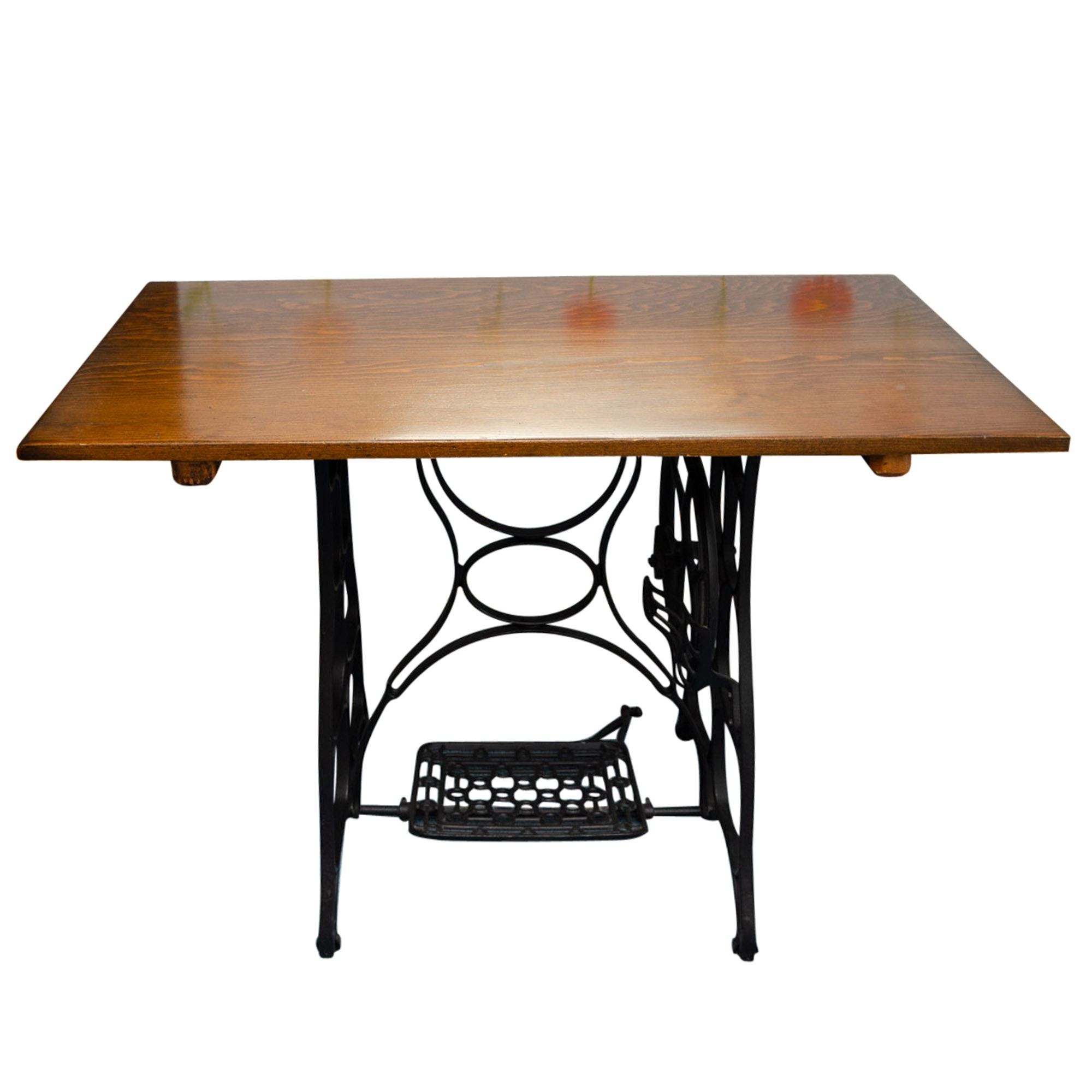 Converted Antique Sewing Machine Table ...