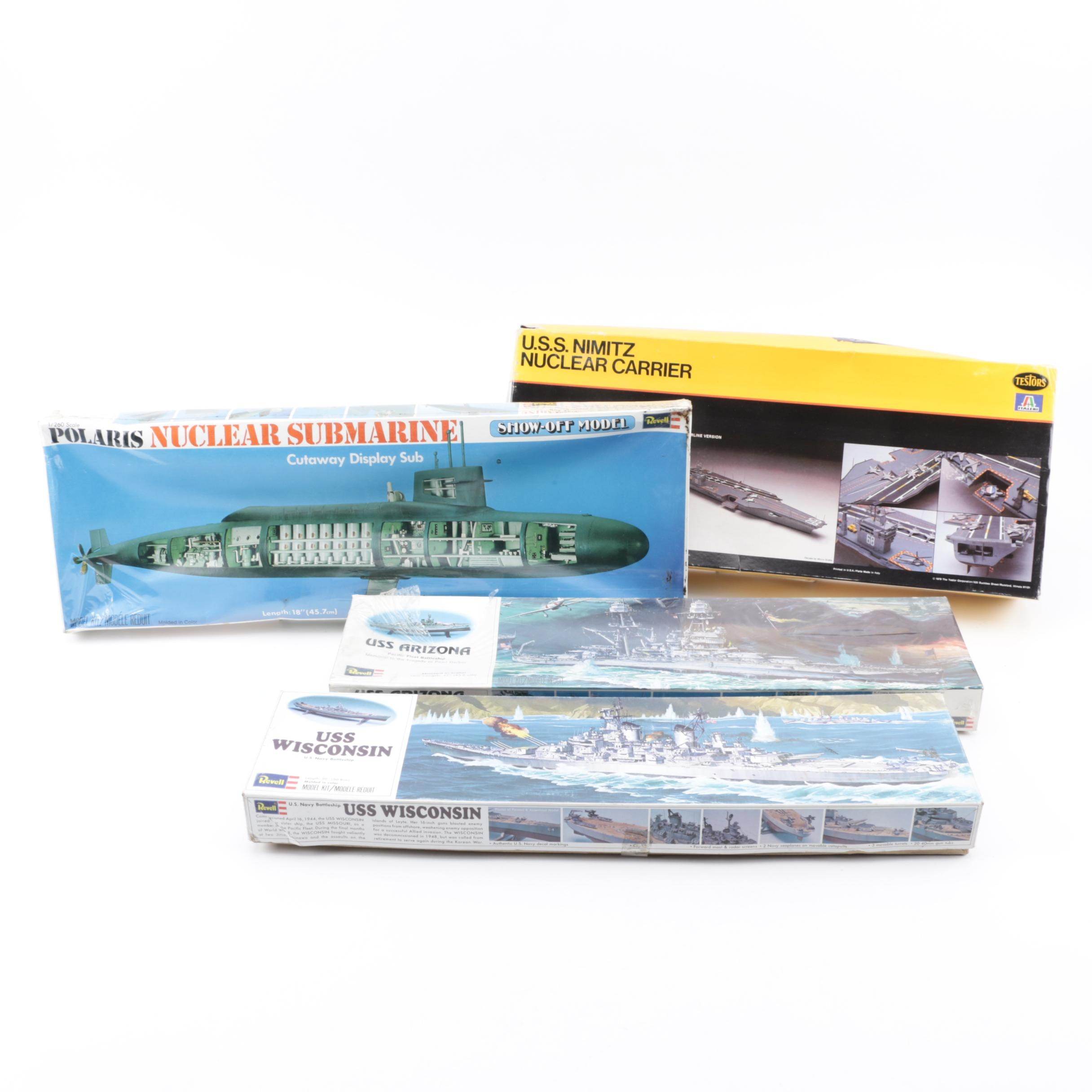 Submarine and Ship Model Kits including Revell