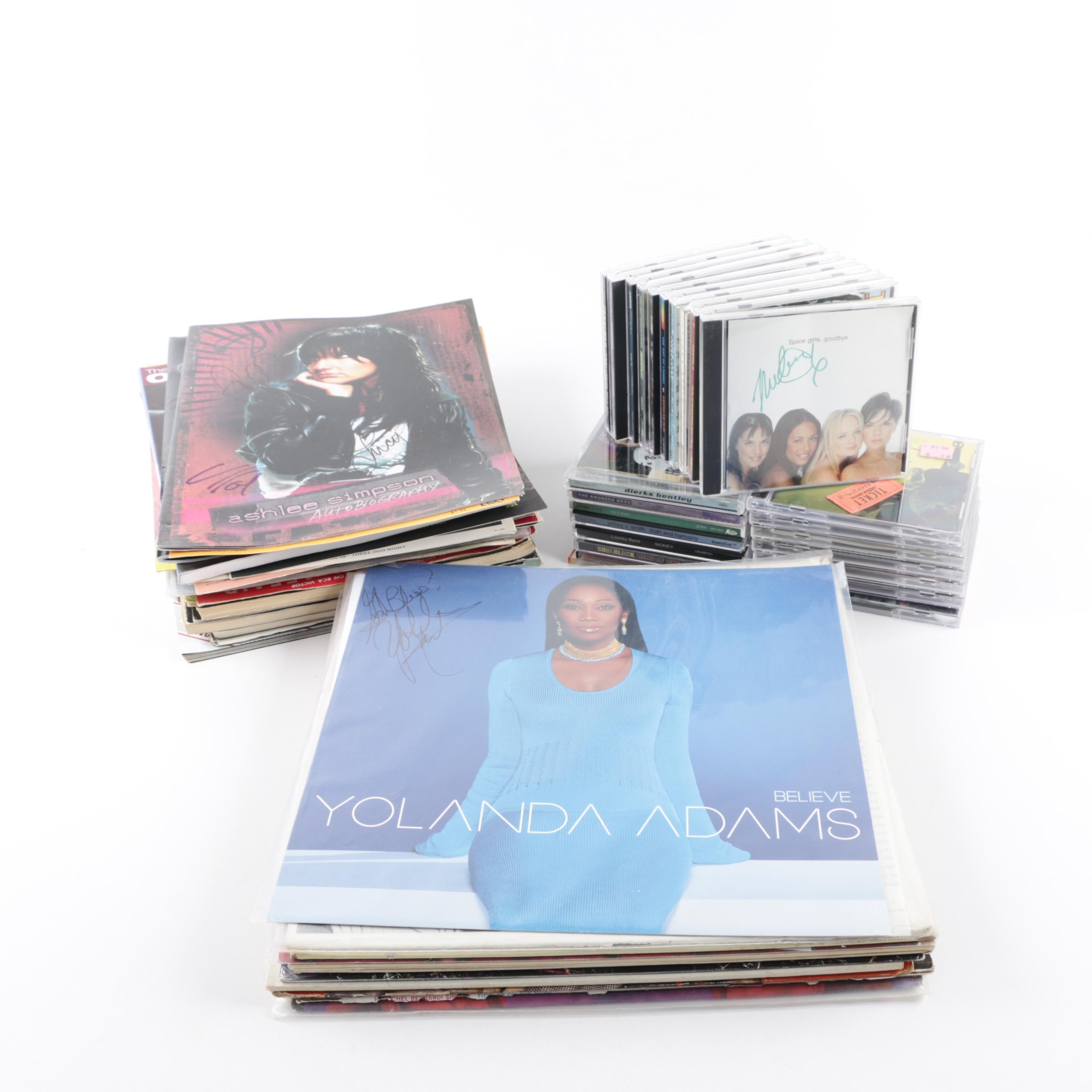 Autographed Sheet Music, CDs, Records and Memorabilia