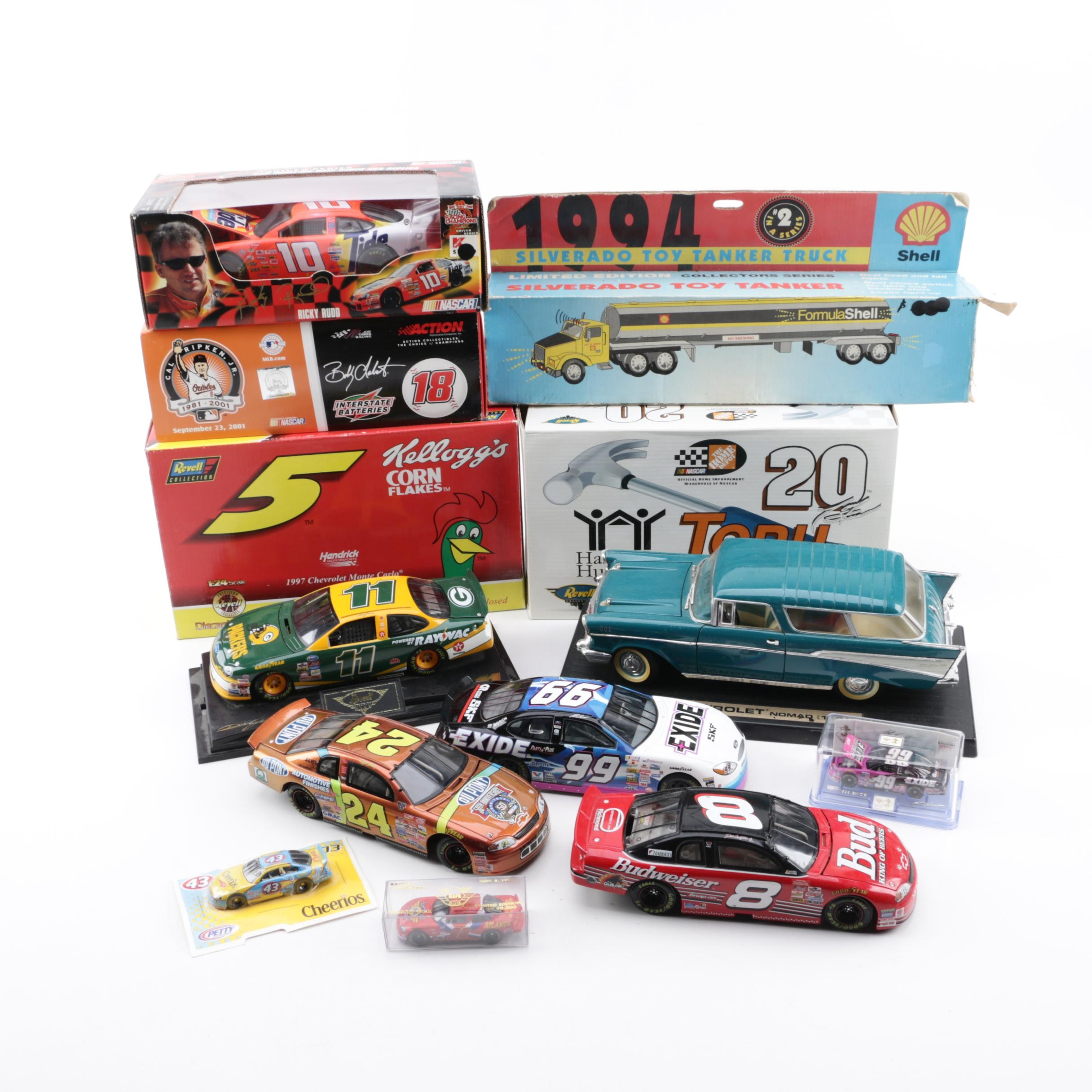 Die-Cast NASCAR Automobiles and More