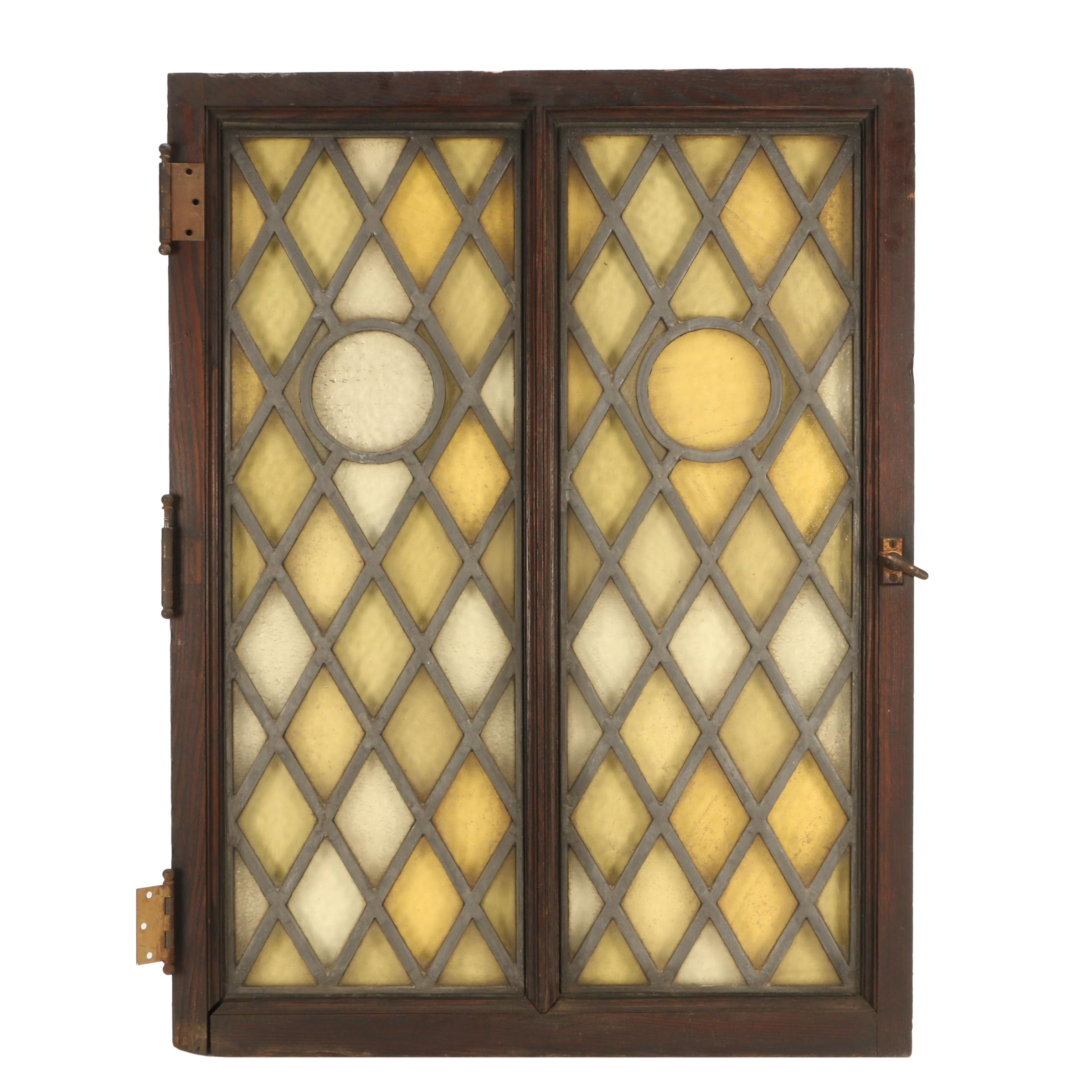 Vintage Stained Glass Cabinet Doors Cabinets Matttroy