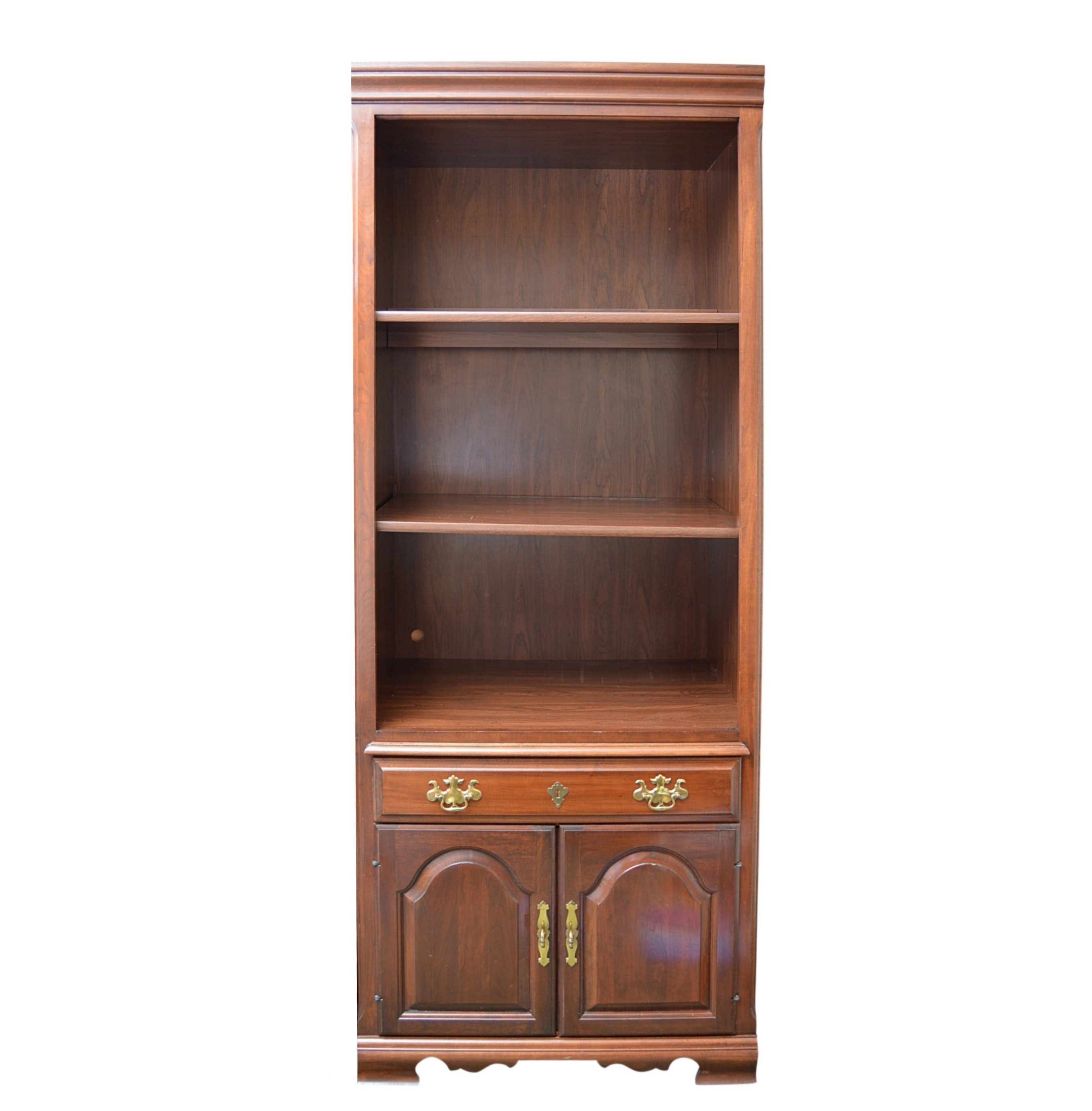 Chippendale Style Mahogany Bookcase