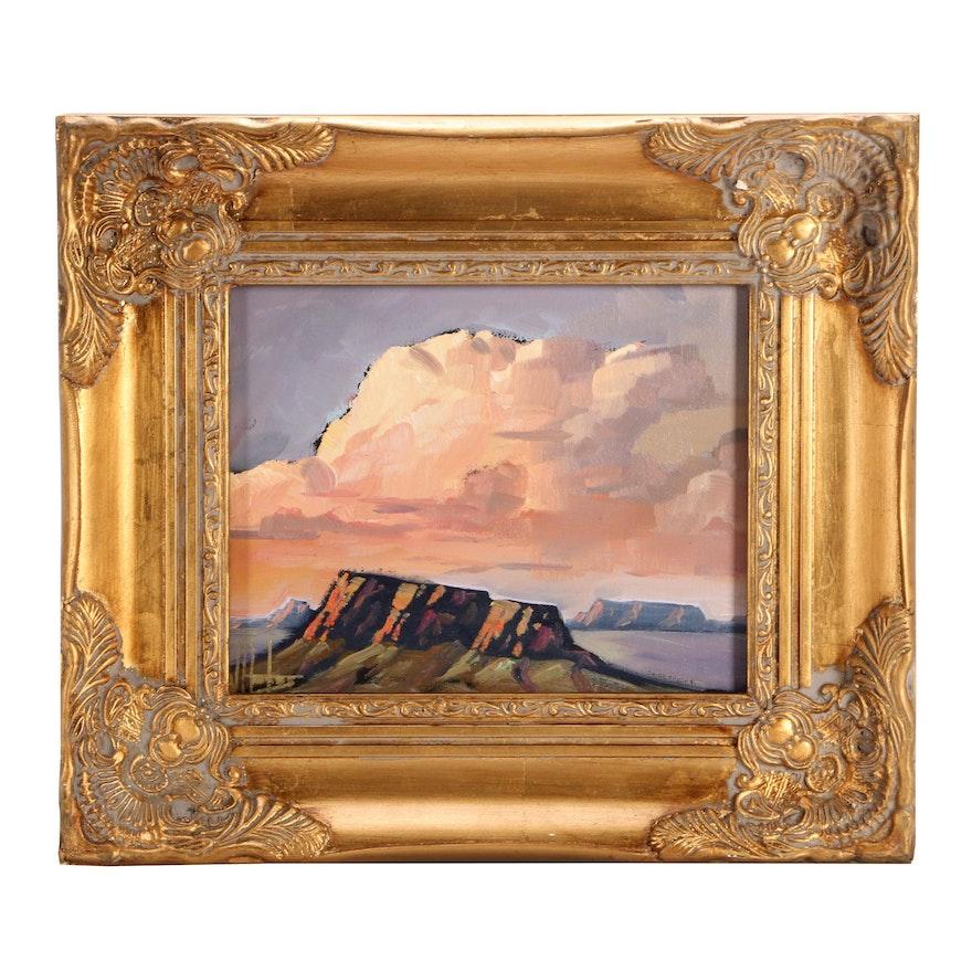 William Hawkins Impressionist Landscape Painting