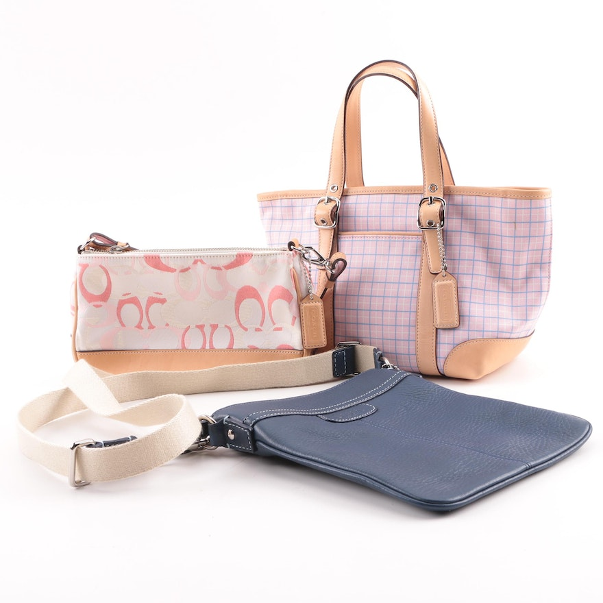 Coach Leather and Canvas Handbags