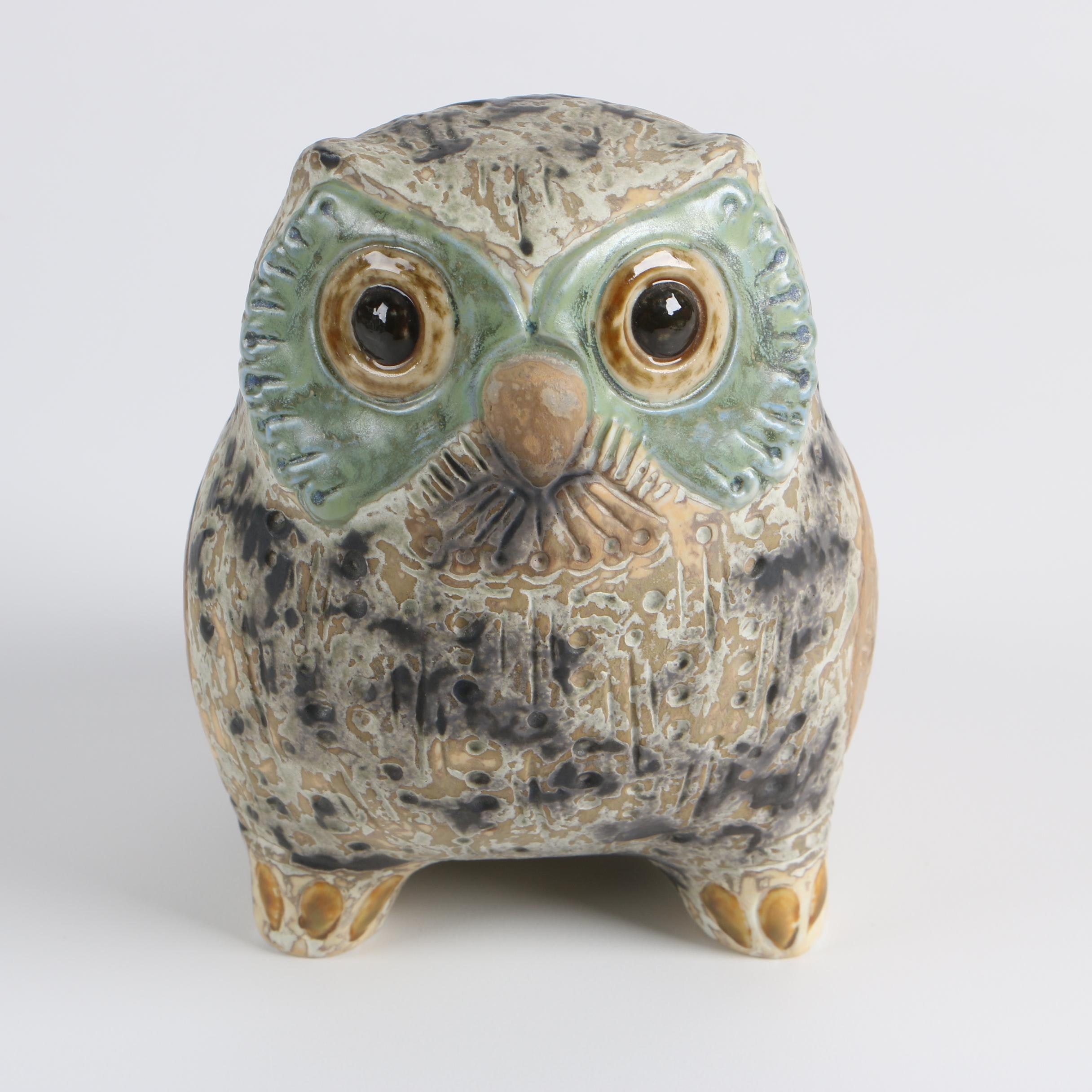 "Lladró ""Little Eagle Owl"" Figurine"