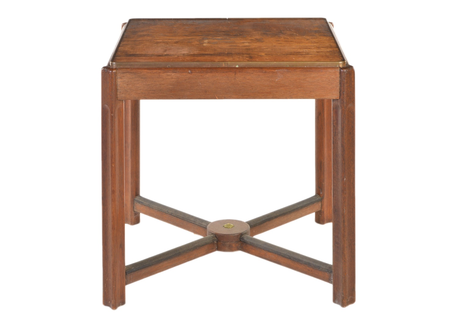 Square Wooden Side Table