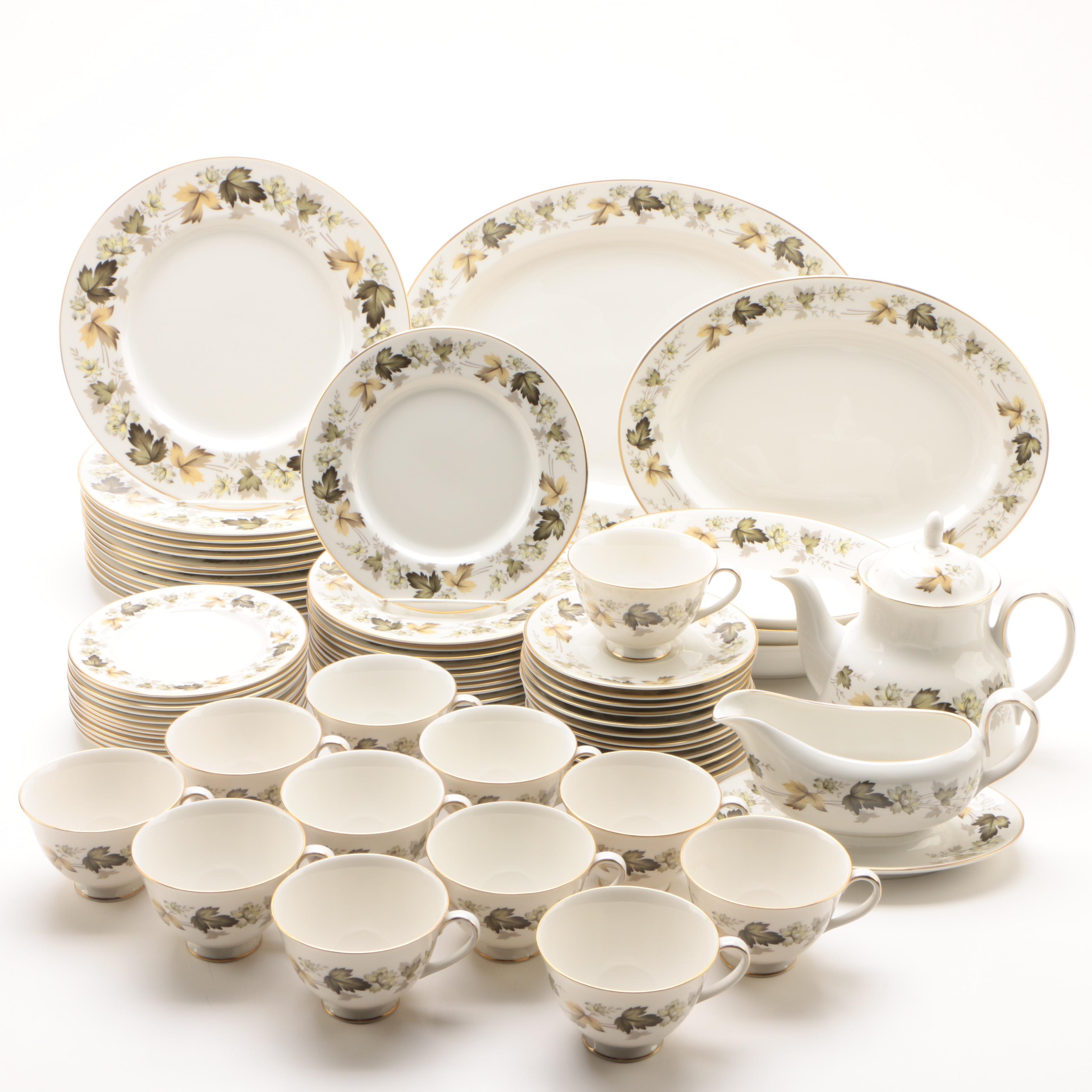 "Royal Doulton ""Larchmont"" Bone China Dinnerware c. 1964-97"