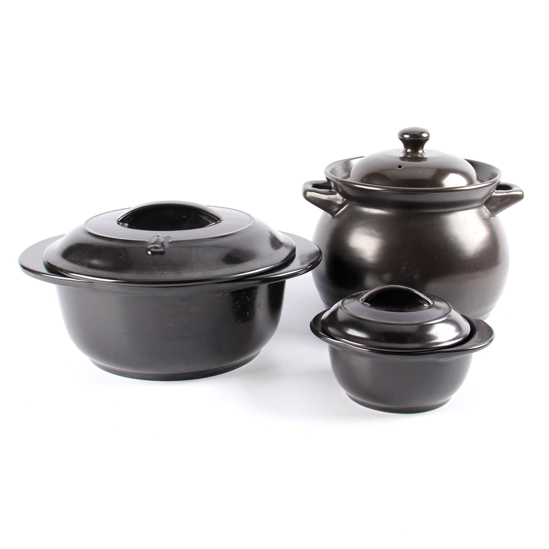 Xtrema Ceramic Versa Pots with Black Cauldron