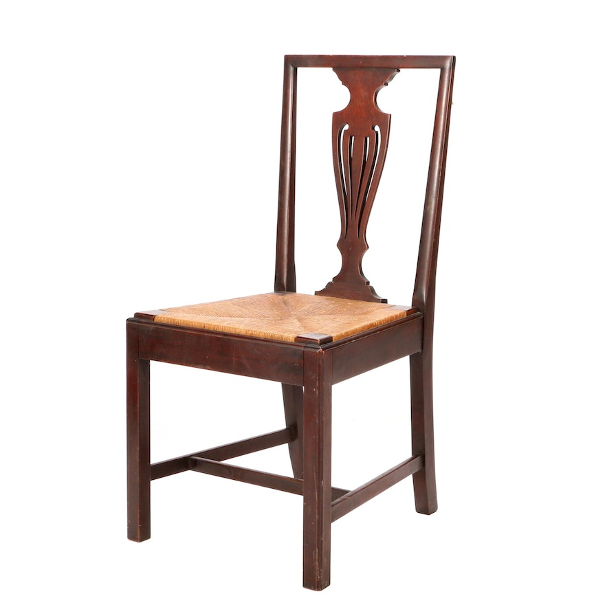 Robert Mitchell Colonial Revival Chair