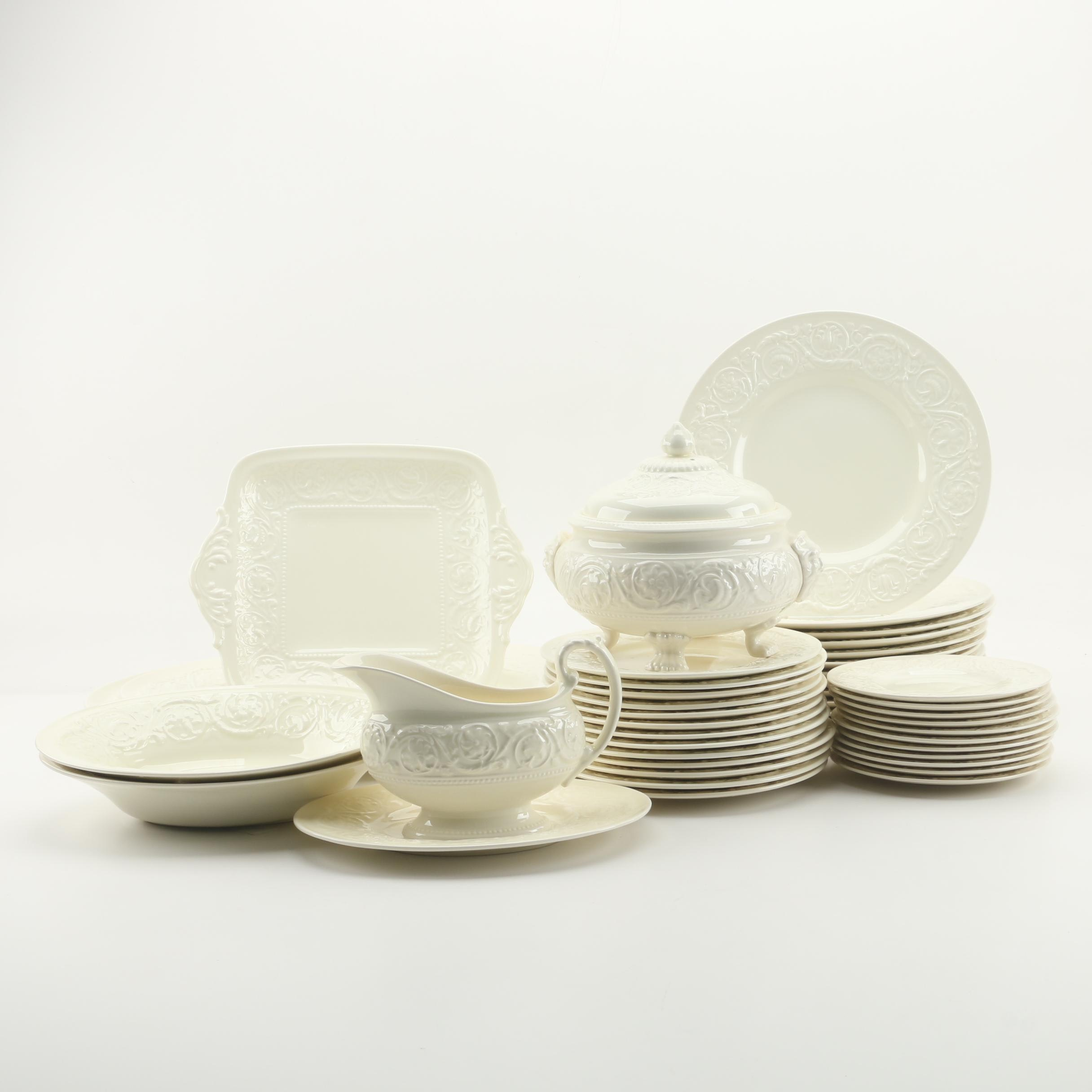 "Wedgwood ""Patrician"" Earthenware Dinnerware"
