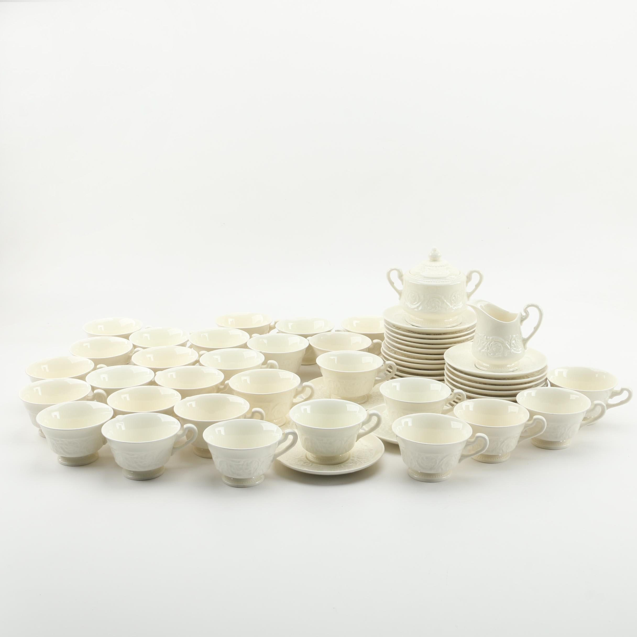 "Wedgwood ""Patrician"" Earthenware Tea Service"