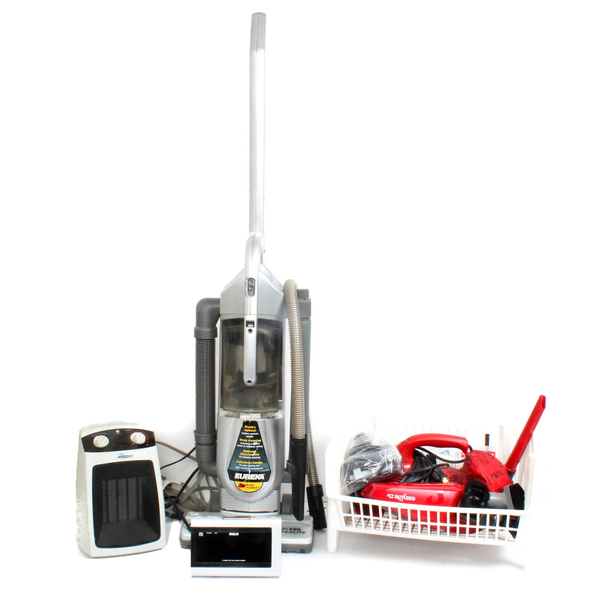 Vacuum Cleaner and other Small Appliances Assortment