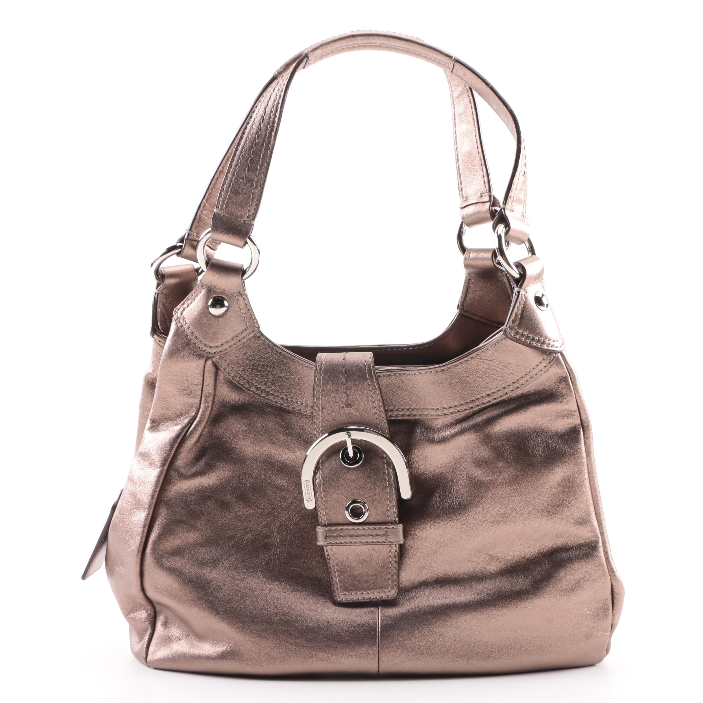 Coach Lynn Soho Leather Hobo Bag