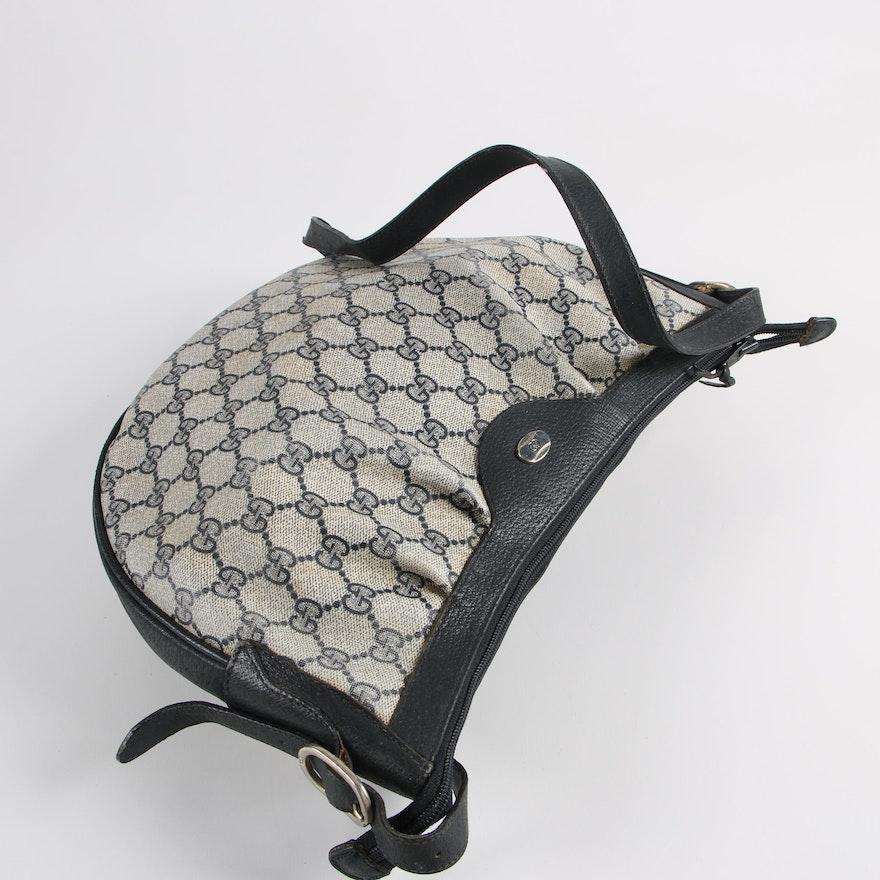 1b668b63681 Vintage Gucci GG Supreme Canvas Shoulder Bag   EBTH