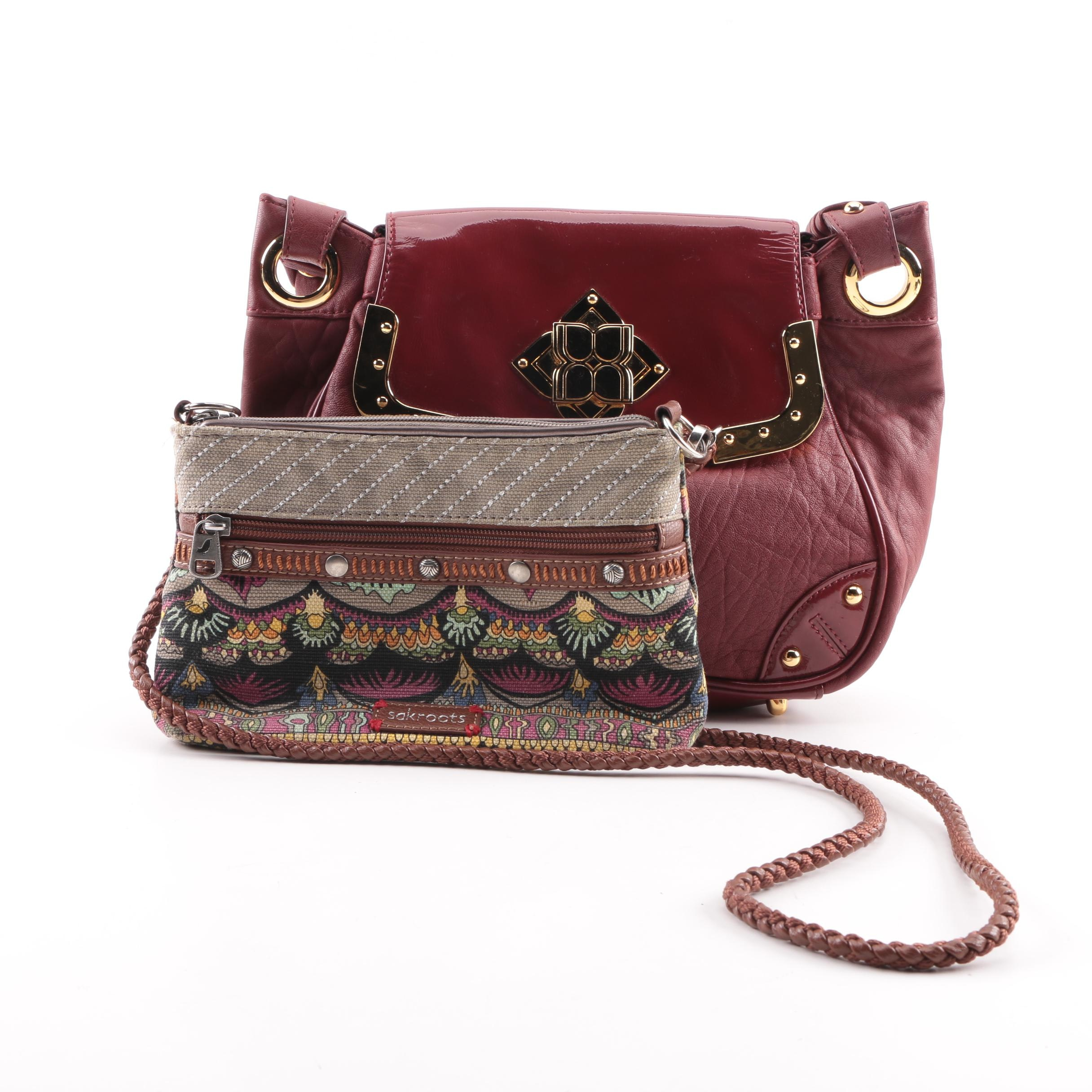 BCBG Max Azaria and Sakroots Handbags