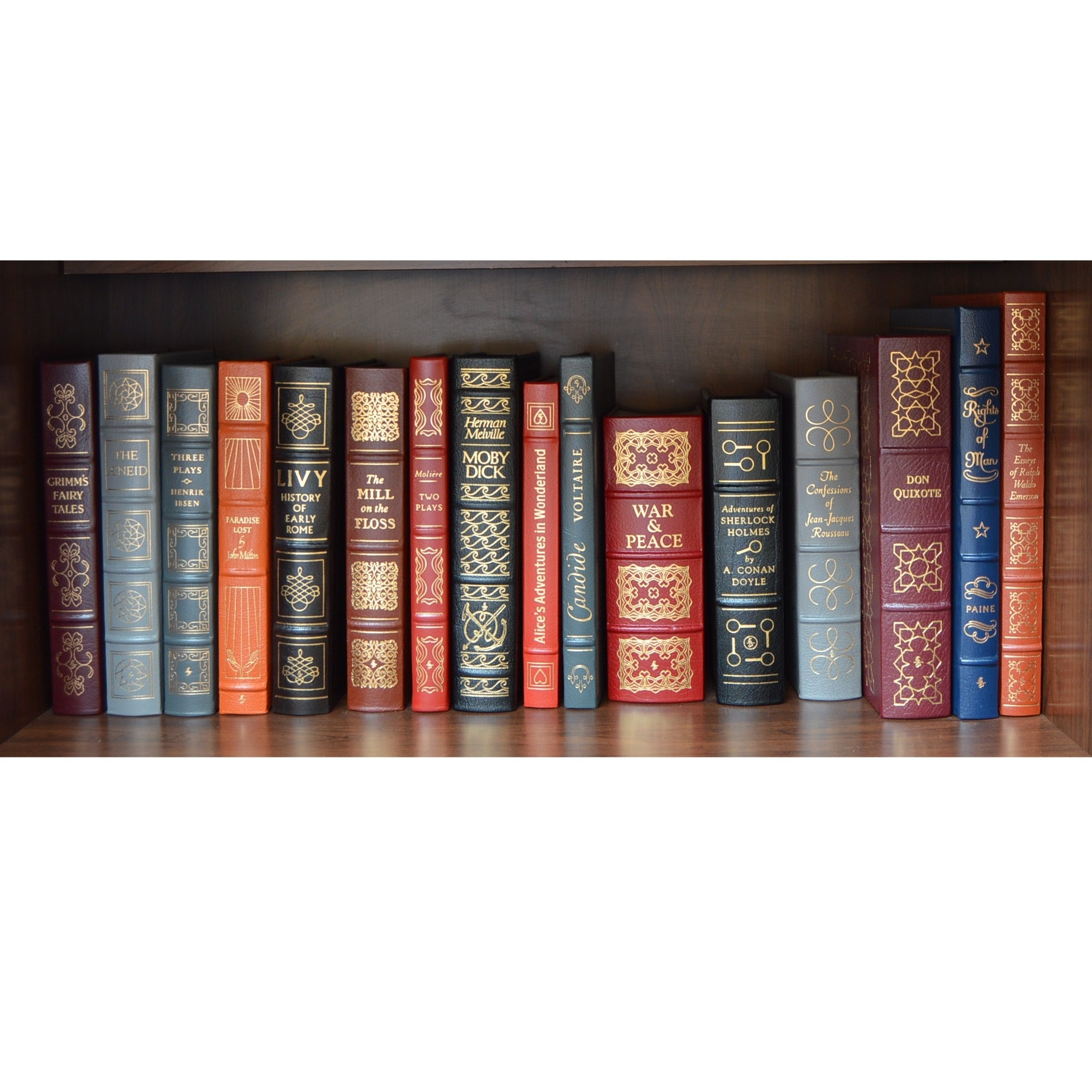 Easton Press Collector's Editions Leather Bound Books