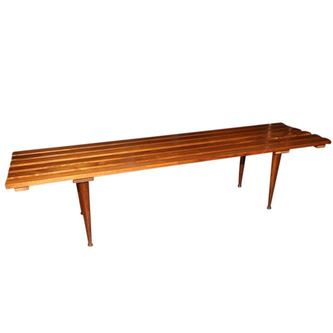 Vintage Mid Century Modern Bench