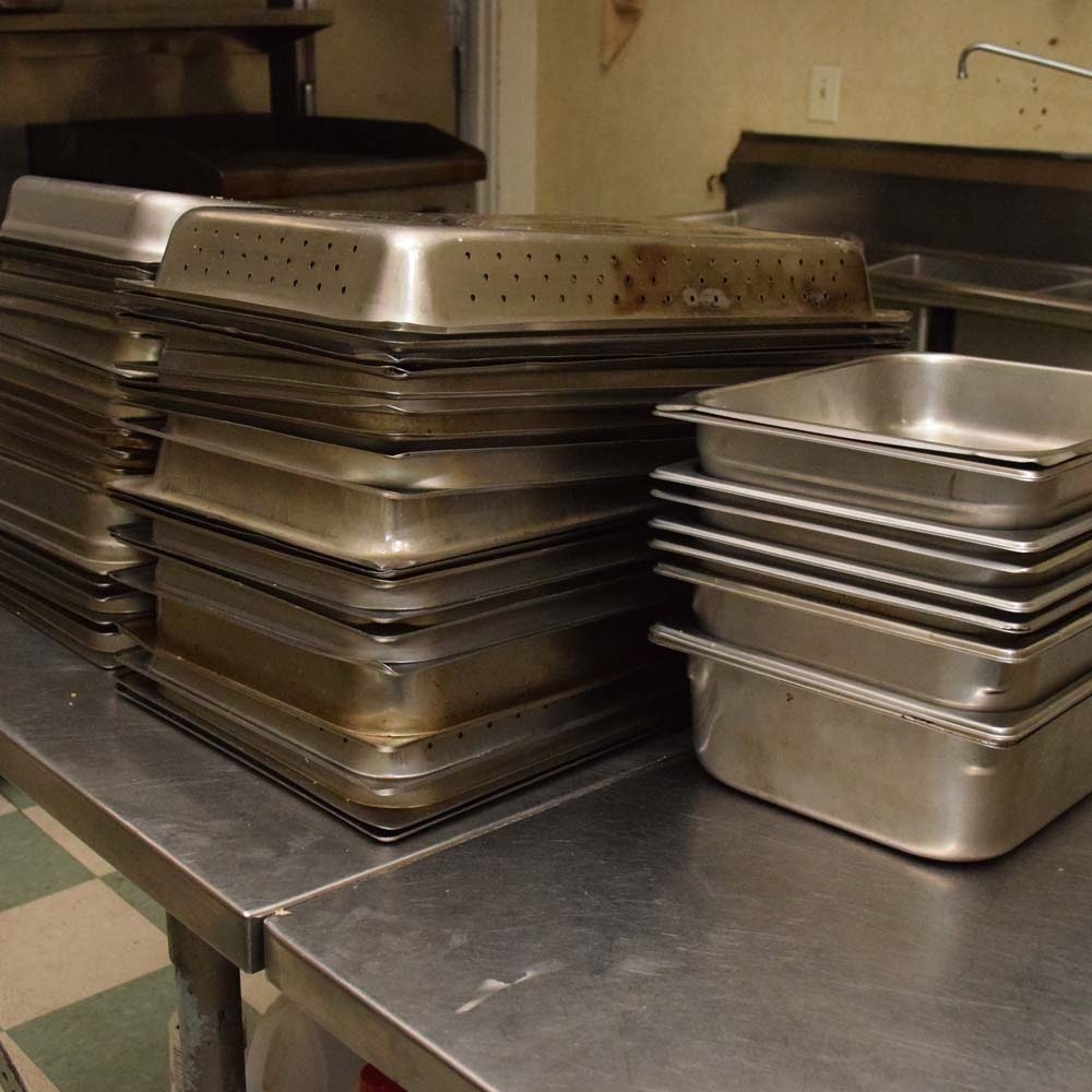 Collection of Chafing Pans