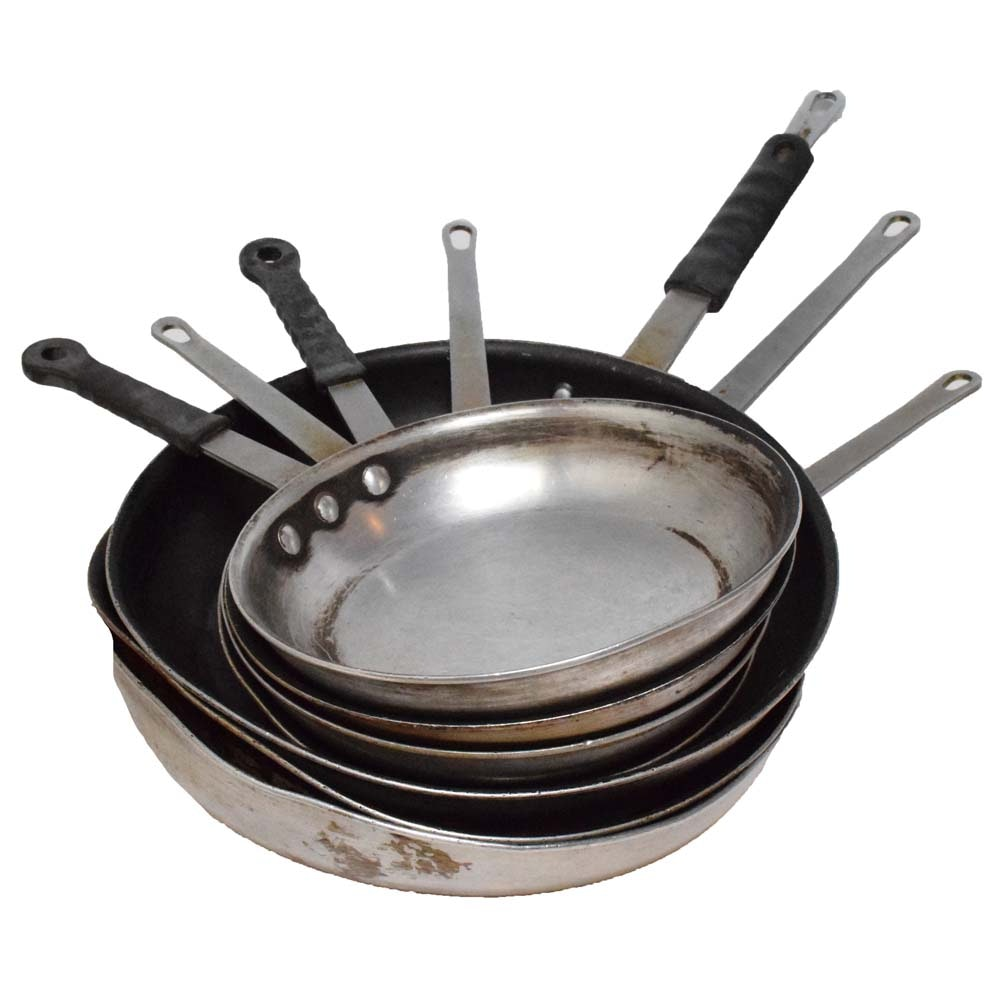 Assorted Commeriercal Cooking Pans